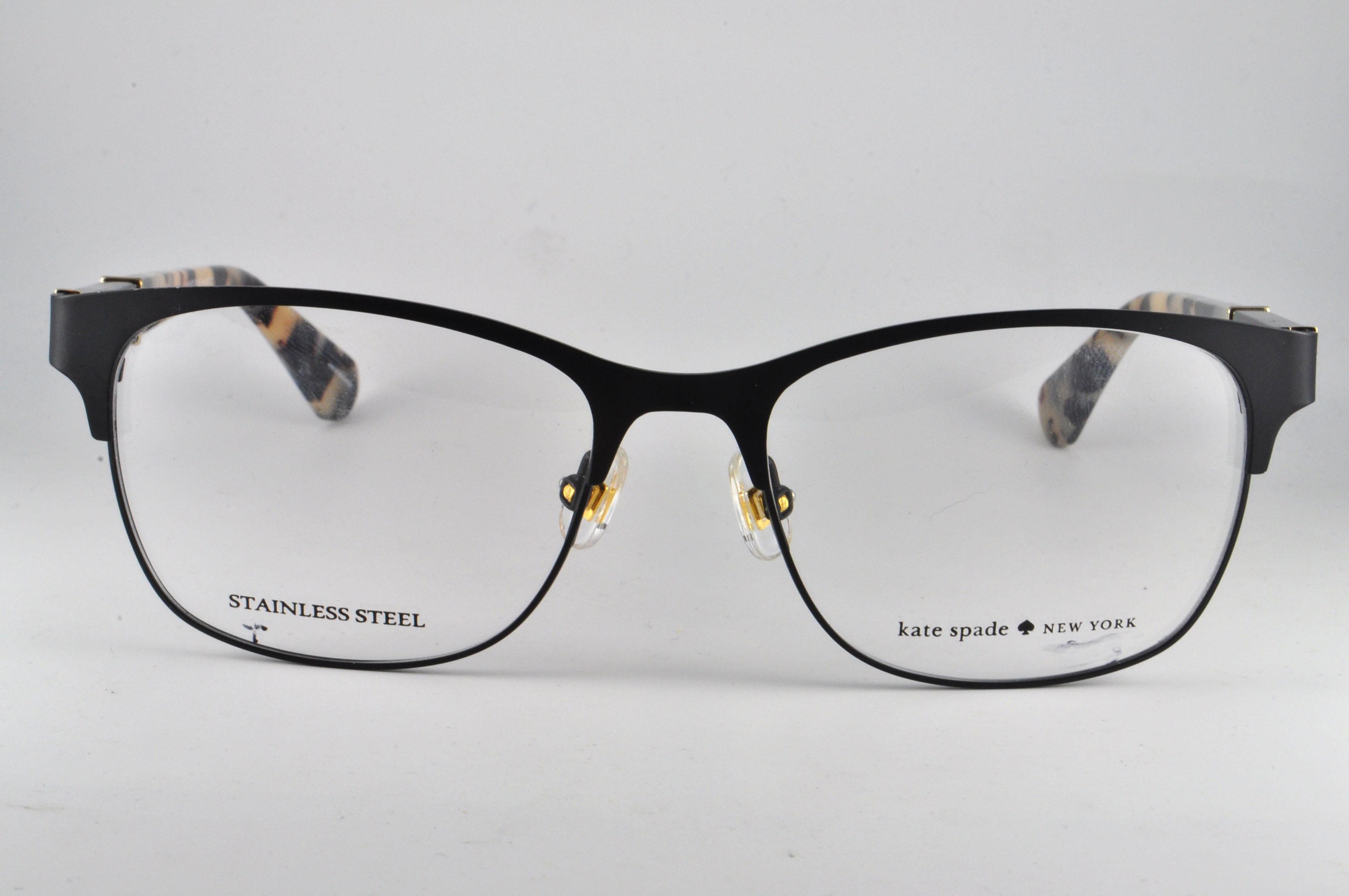 6d30d8241760 Kate Spade Eyeglasses BENEDETTA 0003 Matte Black, Size 51-16-140 ...