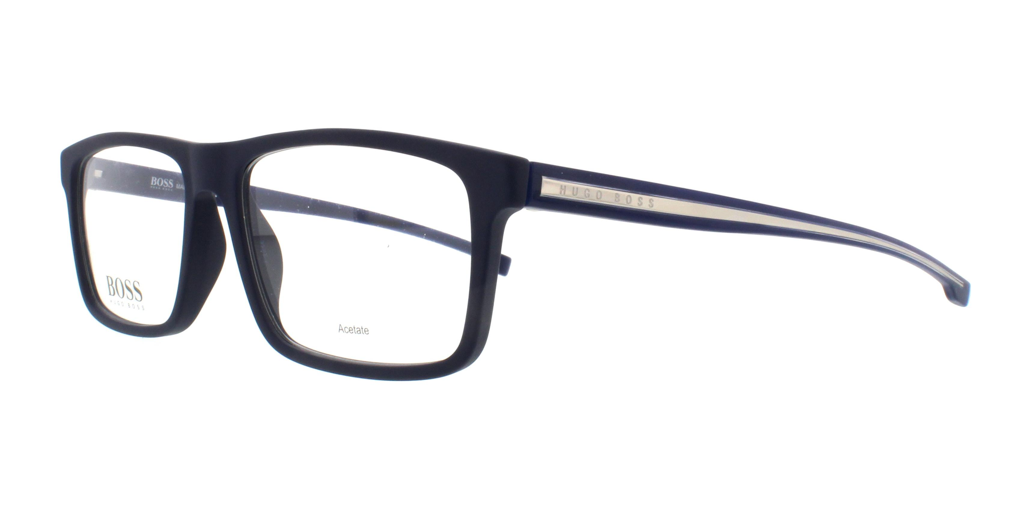 14cc0110d5 HUGO BOSS Eyeglasses 0876 005X Blue 54MM 762753502957