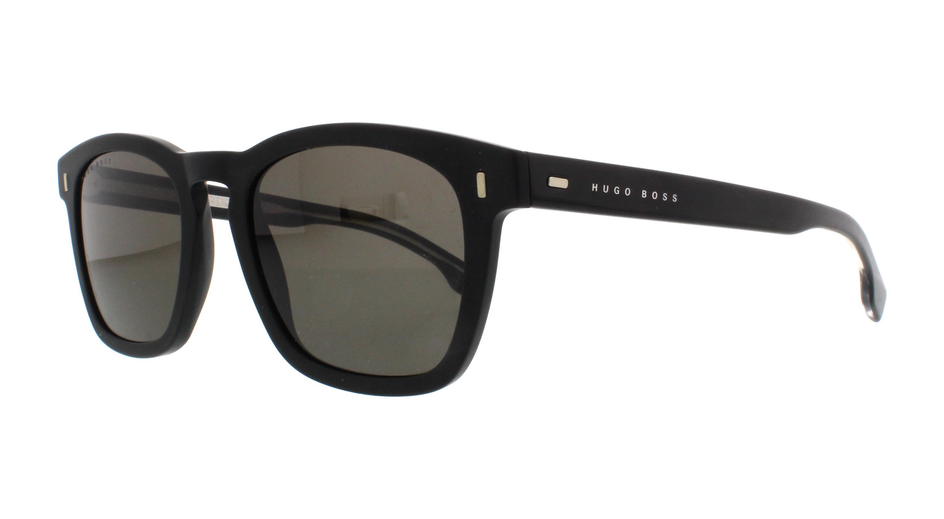 dc804f01666 HUGO BOSS Sunglasses 0926 S 0003 Matte Black 51MM 762753492159