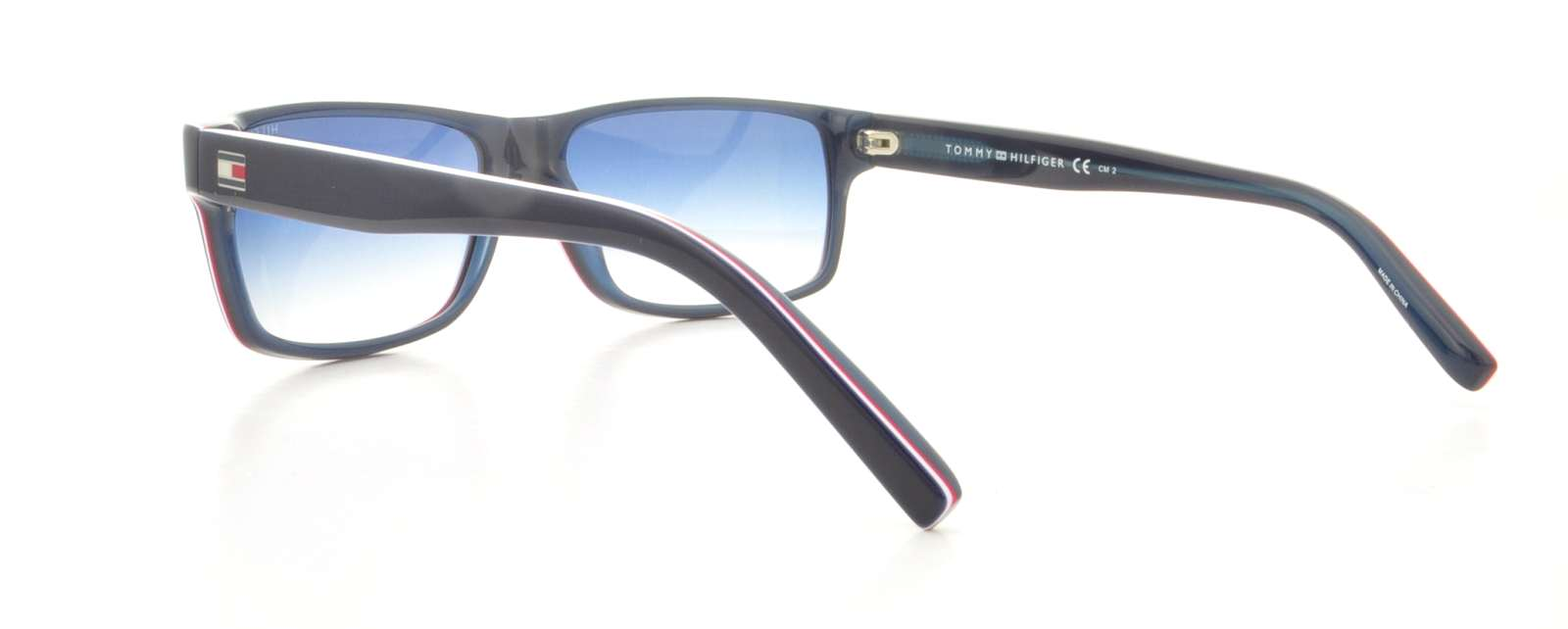 bc47f66c7c7 TOMMY HILFIGER Sunglasses 1042 N S 0OIV Blue Red White 57MM ...