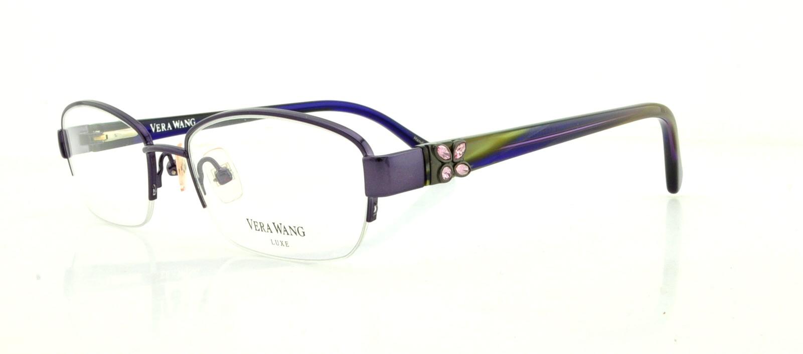 1c3a7c0dcd8a VERA WANG Eyeglasses ACACIA Amethyst 51MM 715317914062