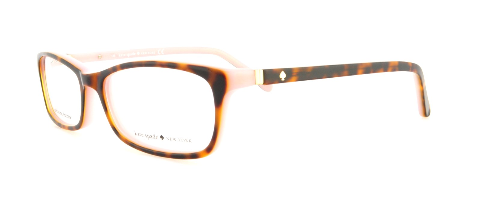 54ddeca18a48 KATE SPADE Eyeglasses AGNETA 01J5 Tortoise Pink 50MM 716737513200 | eBay
