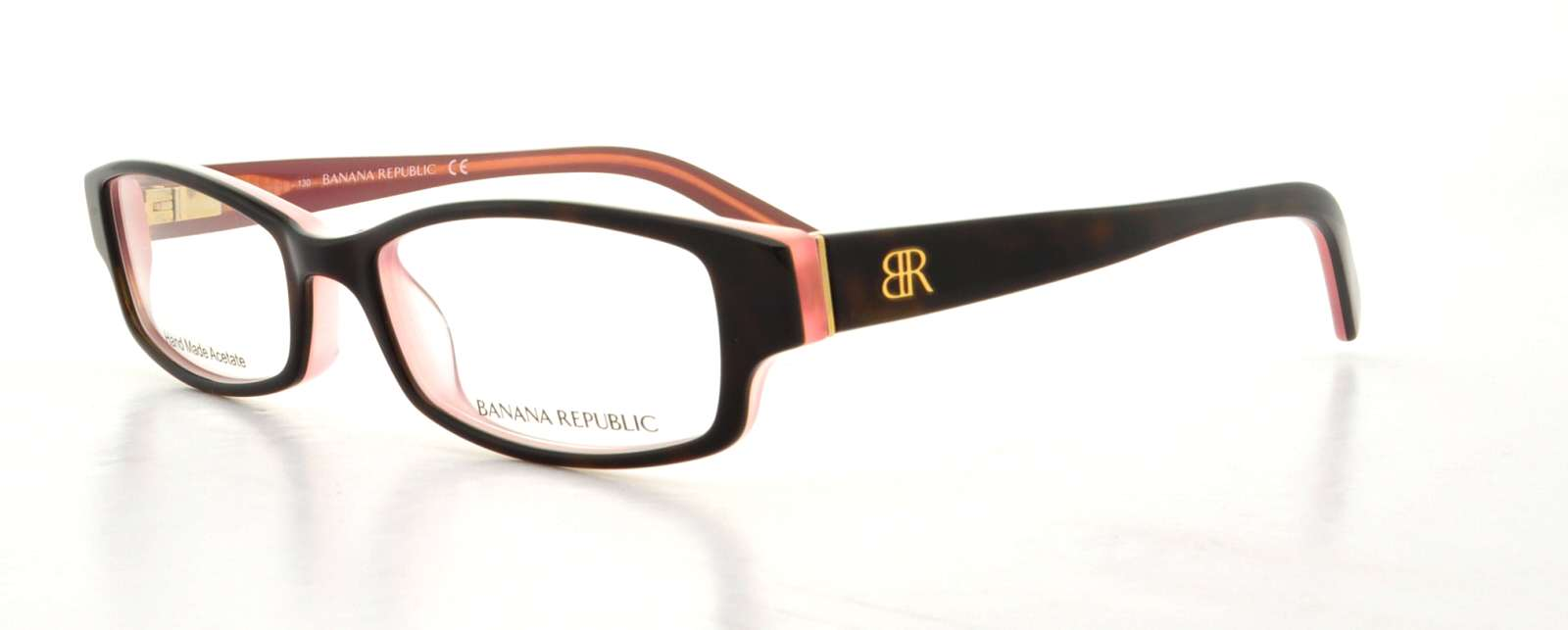 BANANA REPUBLIC Eyeglasses ALLIE 01K2 Tortoise Pink 49MM ...
