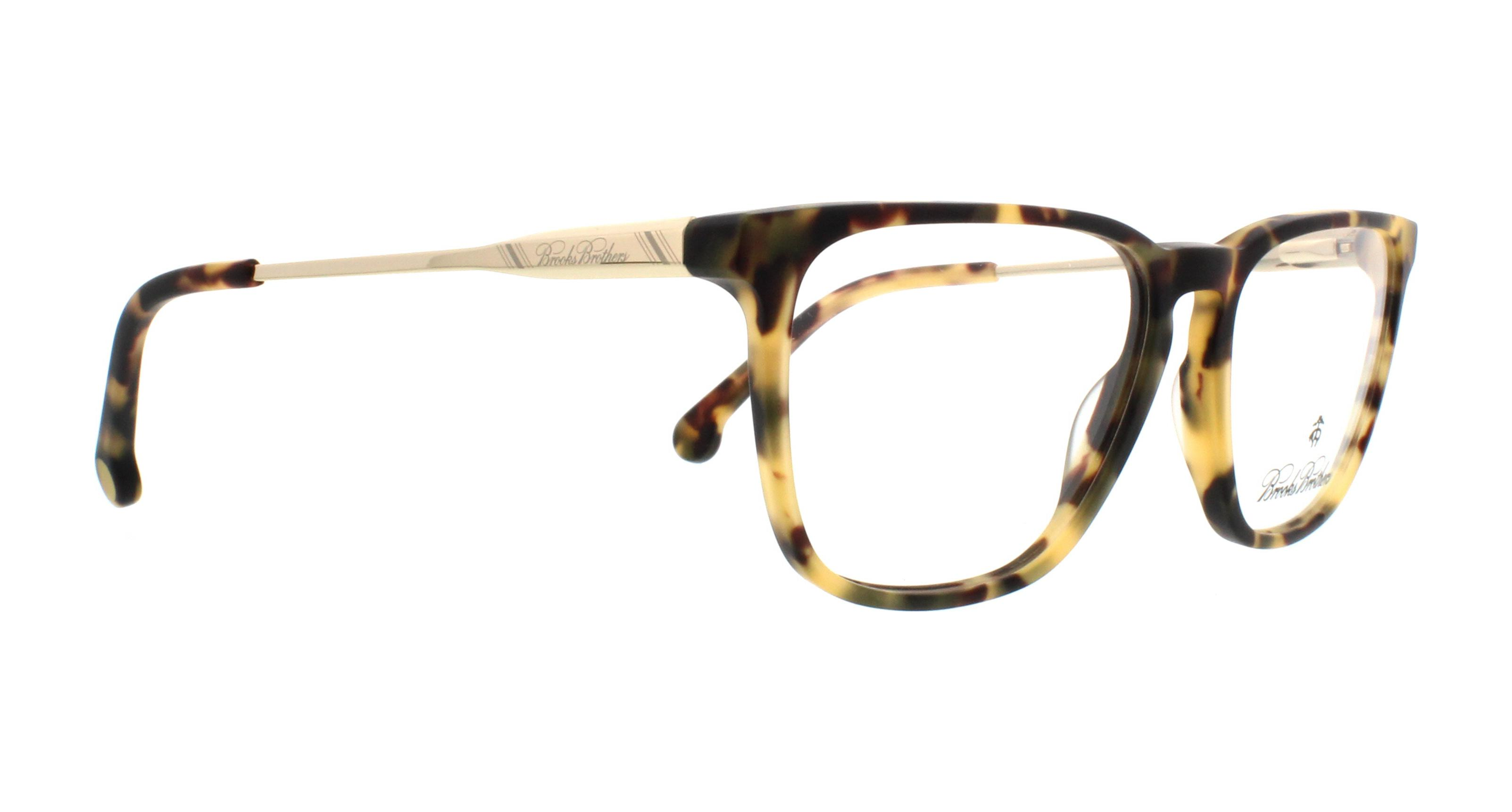 c834fb31b1db BROOKS BROTHERS Eyeglasses BB2034 6125 Matte Spotty Tort Gold 52MM ...