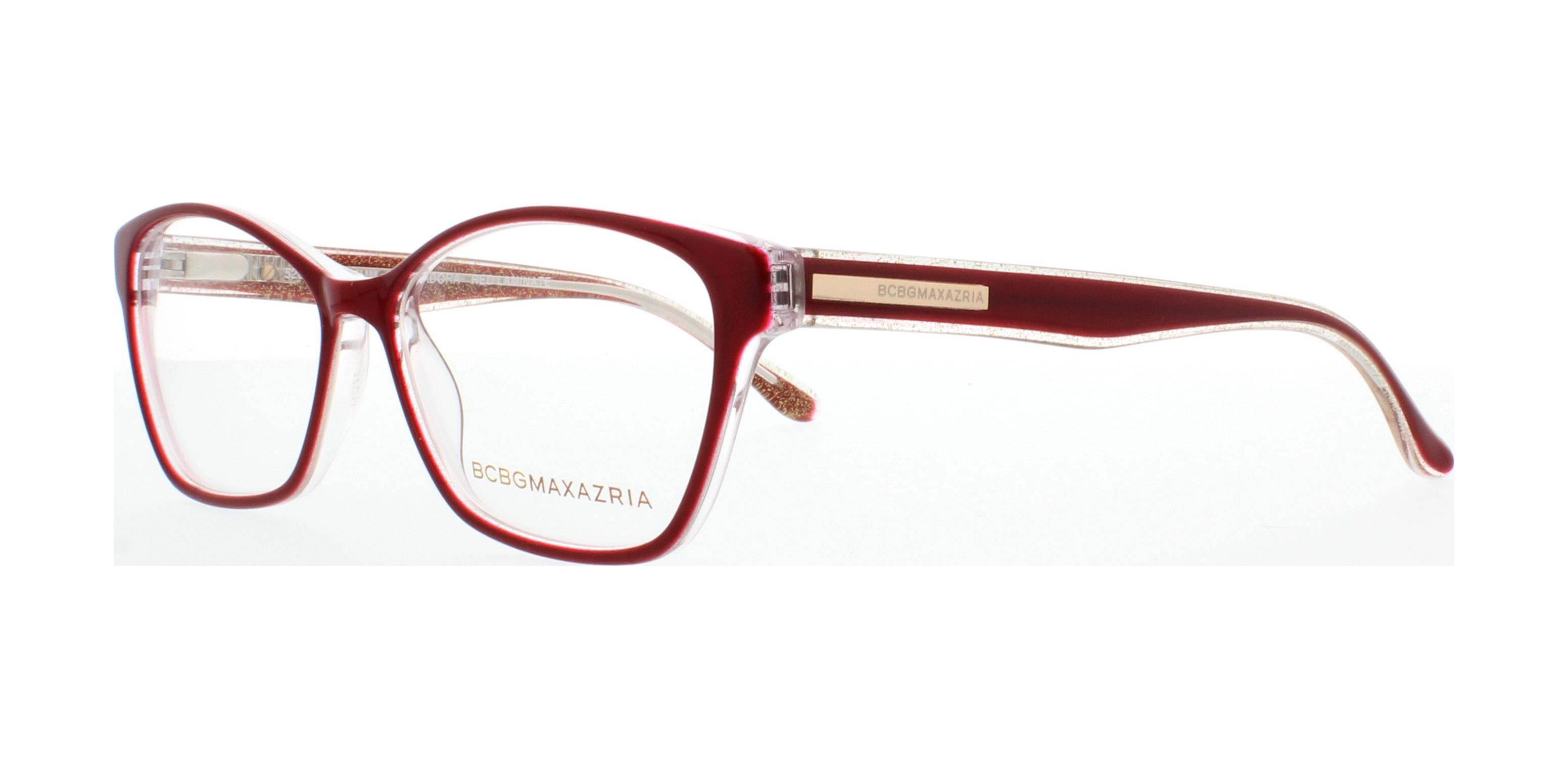 BCBGMAXAZRIA Eyeglasses ISADORA RED LAMINATE 52MM 886453378053 | eBay