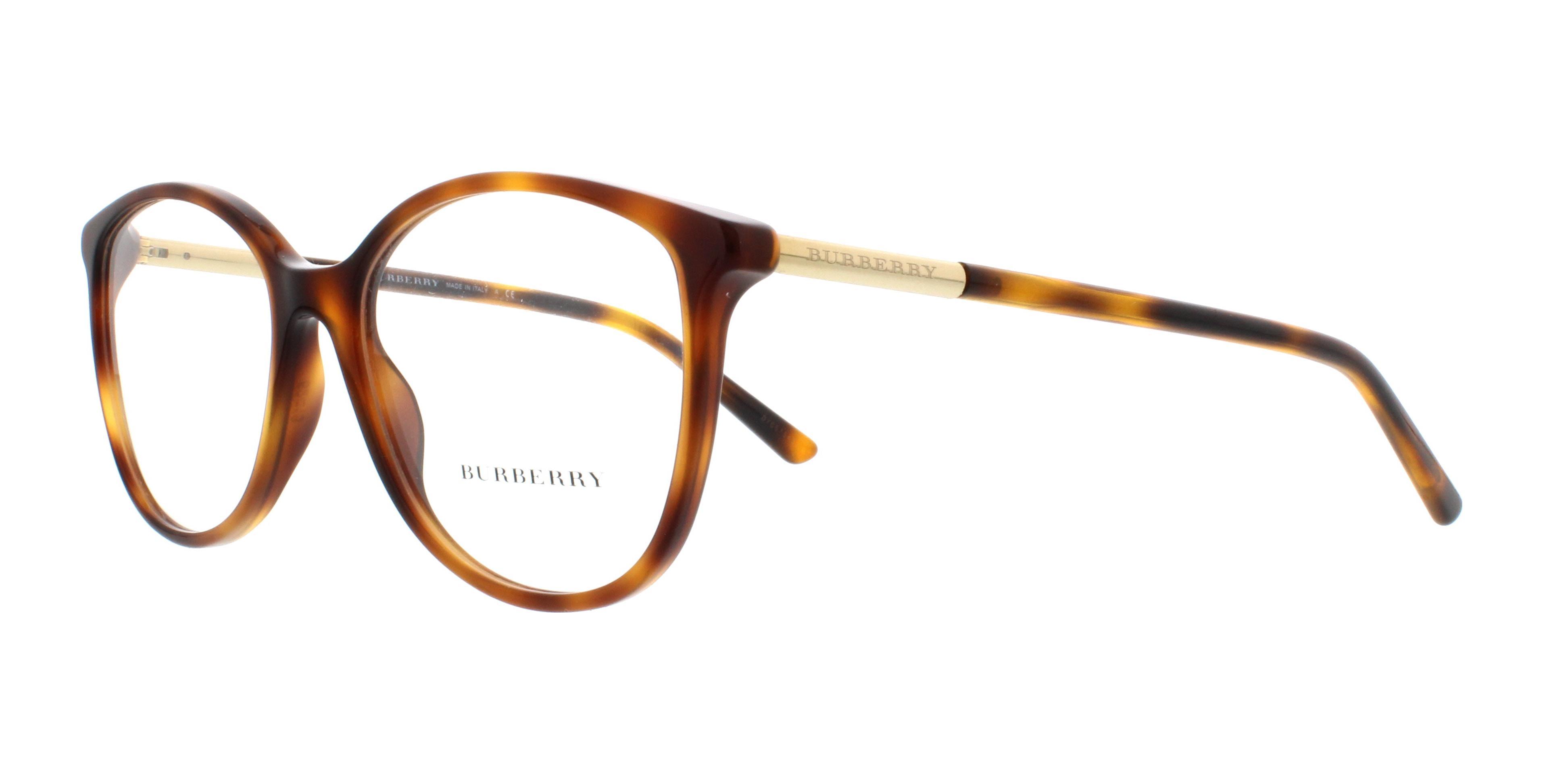 BURBERRY Eyeglasses BE2128 3316 Havana 52MM 713132575499 | eBay
