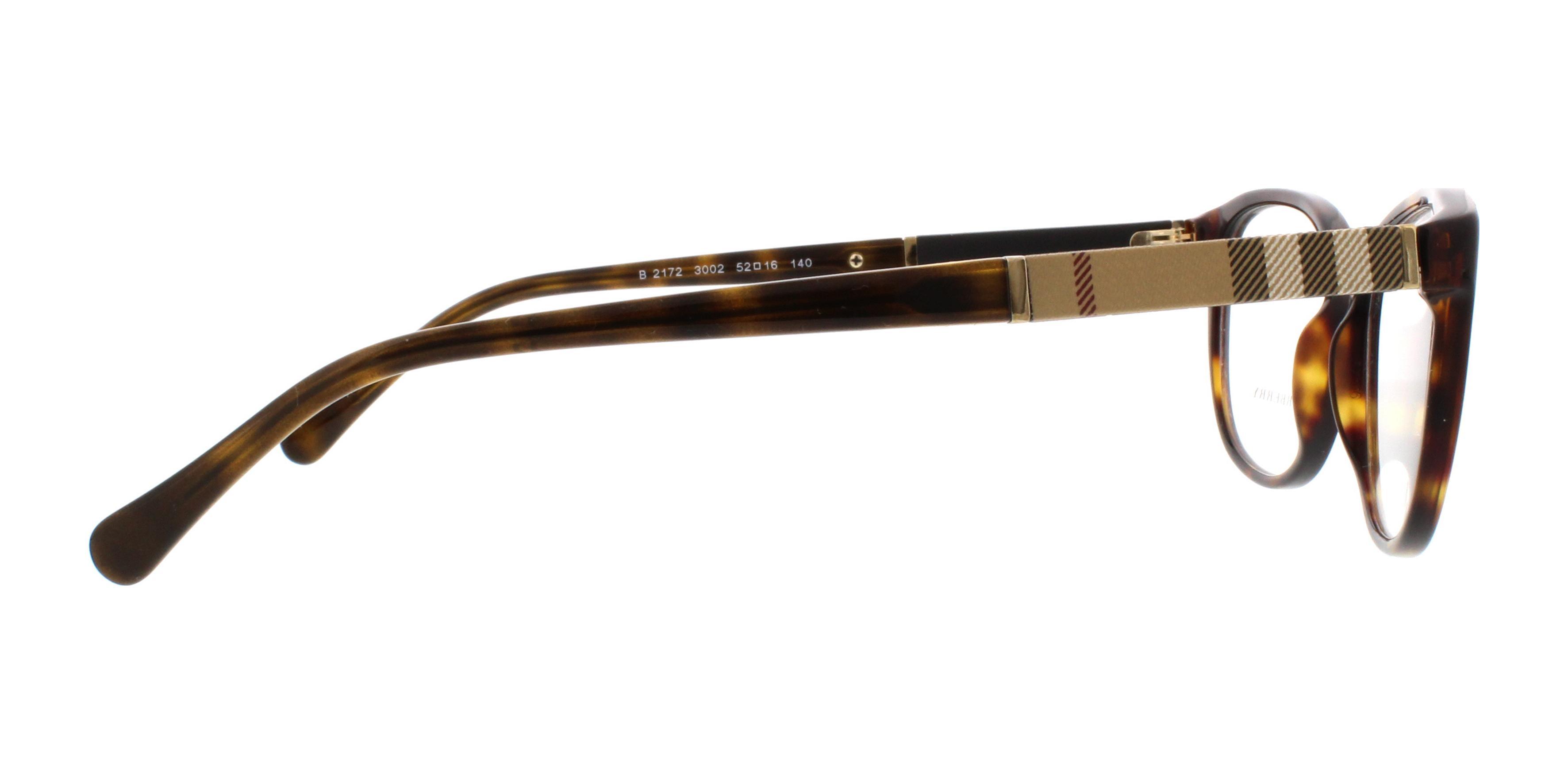 50e5f469f4 BURBERRY Eyeglasses BE2172 3002 Havana 52MM 8053672320749