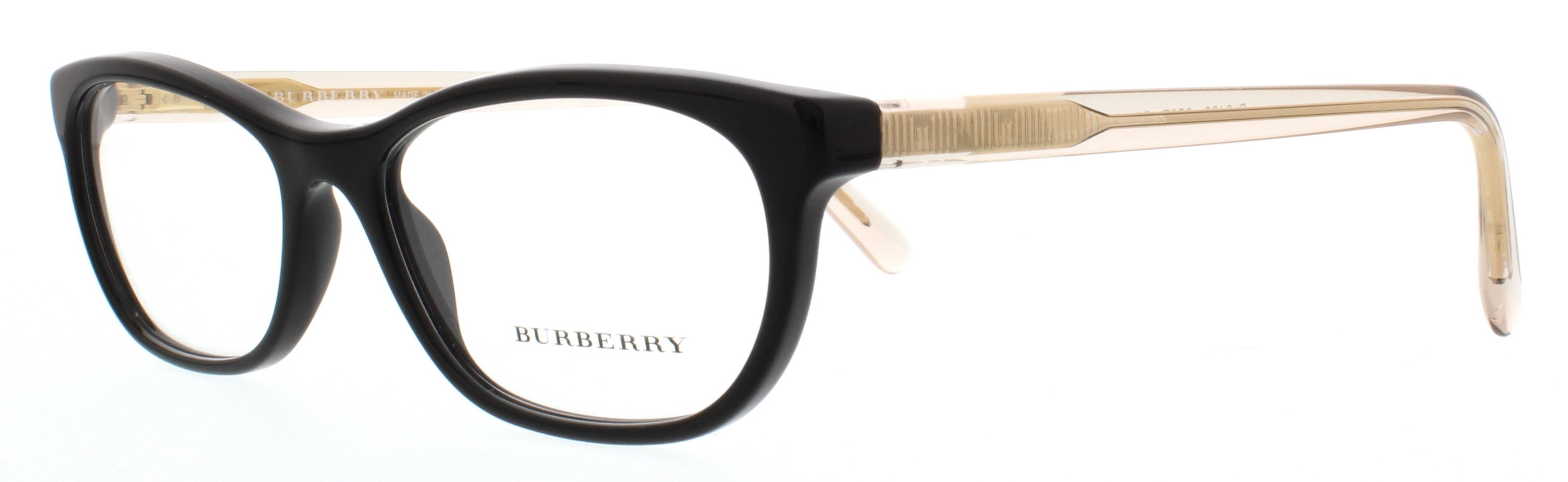 525ffd2645 BURBERRY Eyeglasses BE2180 3507 Black 52MM 8053672321265
