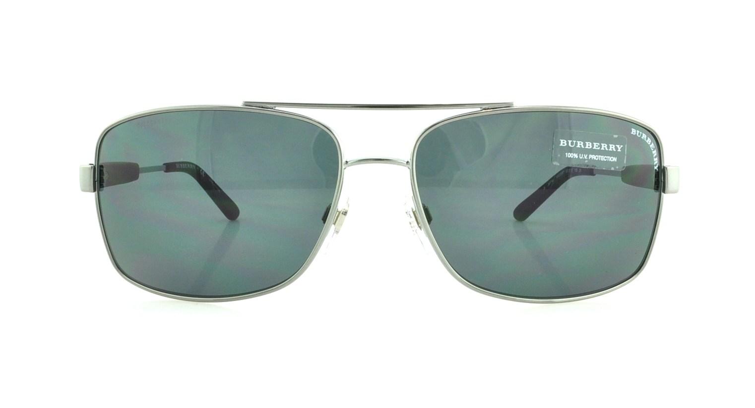 52e82e5cdf BURBERRY Sunglasses BE3074 100387 Gunmetal 63MM 200124051289