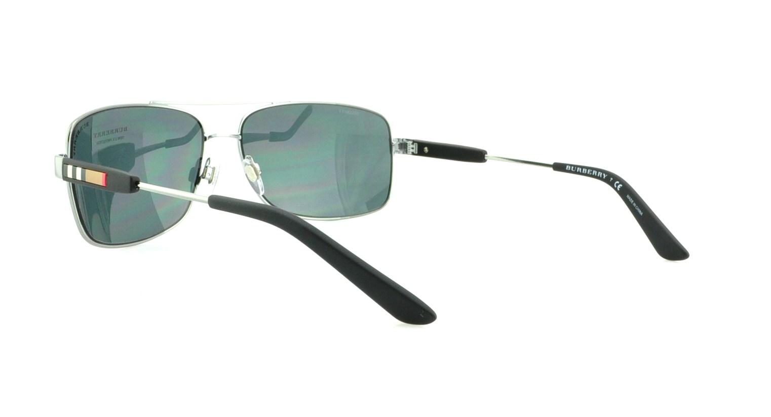 2b5161bcb61 BURBERRY Sunglasses BE3074 100387 Gunmetal 63MM 200124051289
