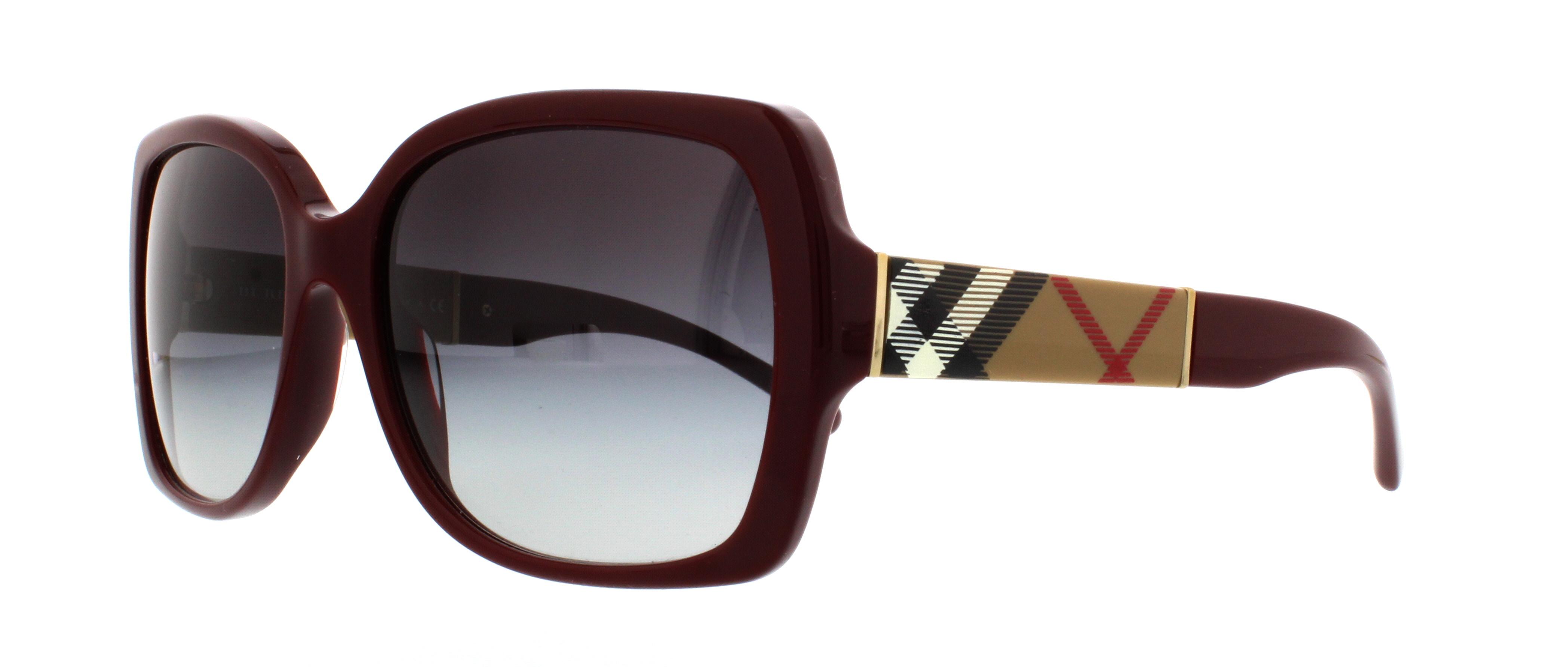 BURBERRY Sunglasses BE4160 34038G Bordeaux 58MM   eBay d8b2b8520d84