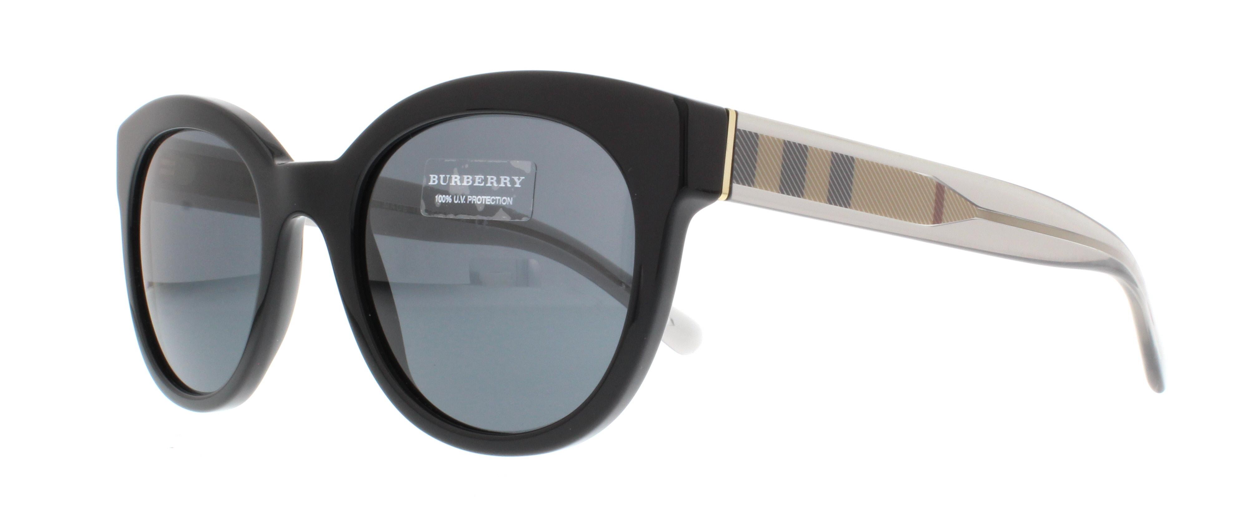 Burberry BE4210 Sonnenbrille Schwarz 300187 52mm nBlOOgZud