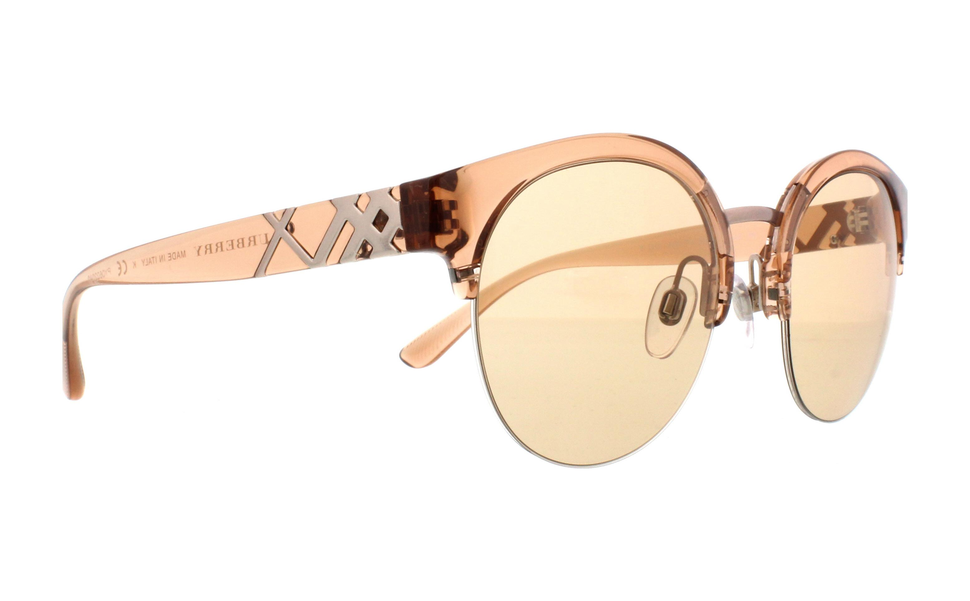 15f44c8cdd1 BURBERRY Sunglasses BE4241 367473 Brown 52MM 8053672808100