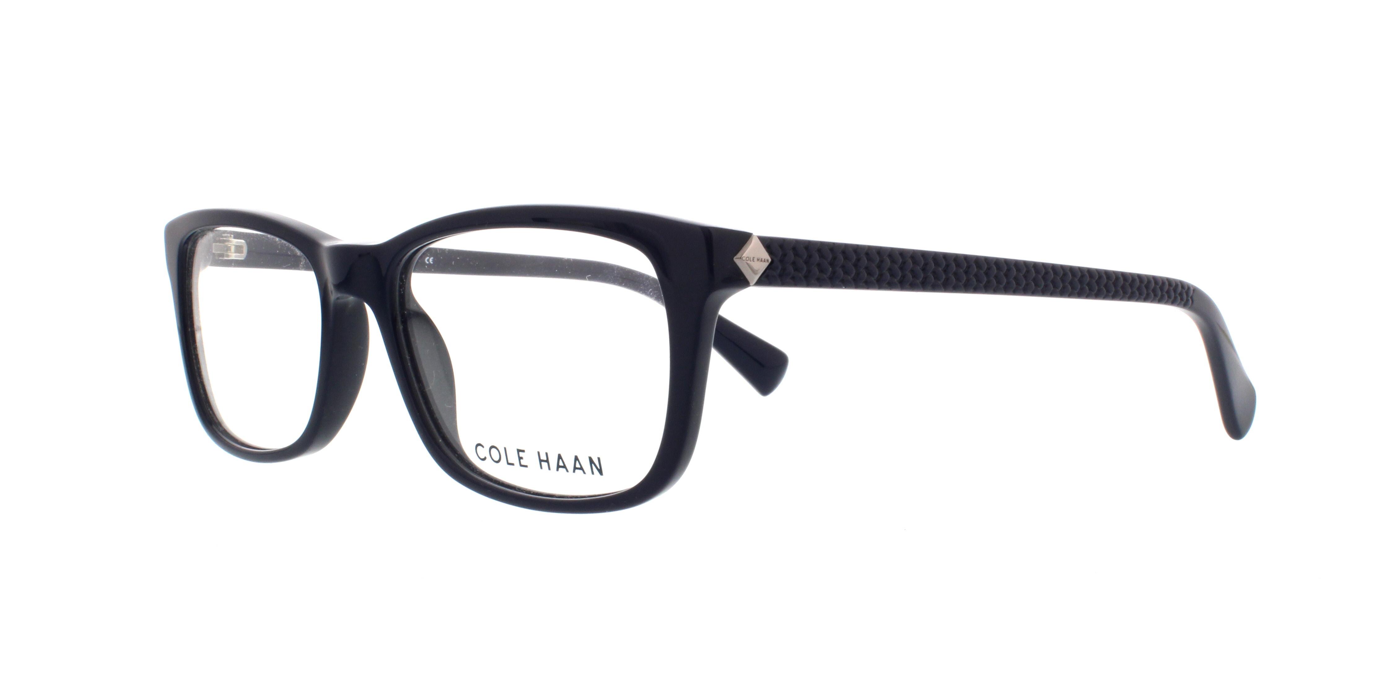 COLE HAAN Eyeglasses CH4000 414 Navy 53MM 788678534484 | eBay