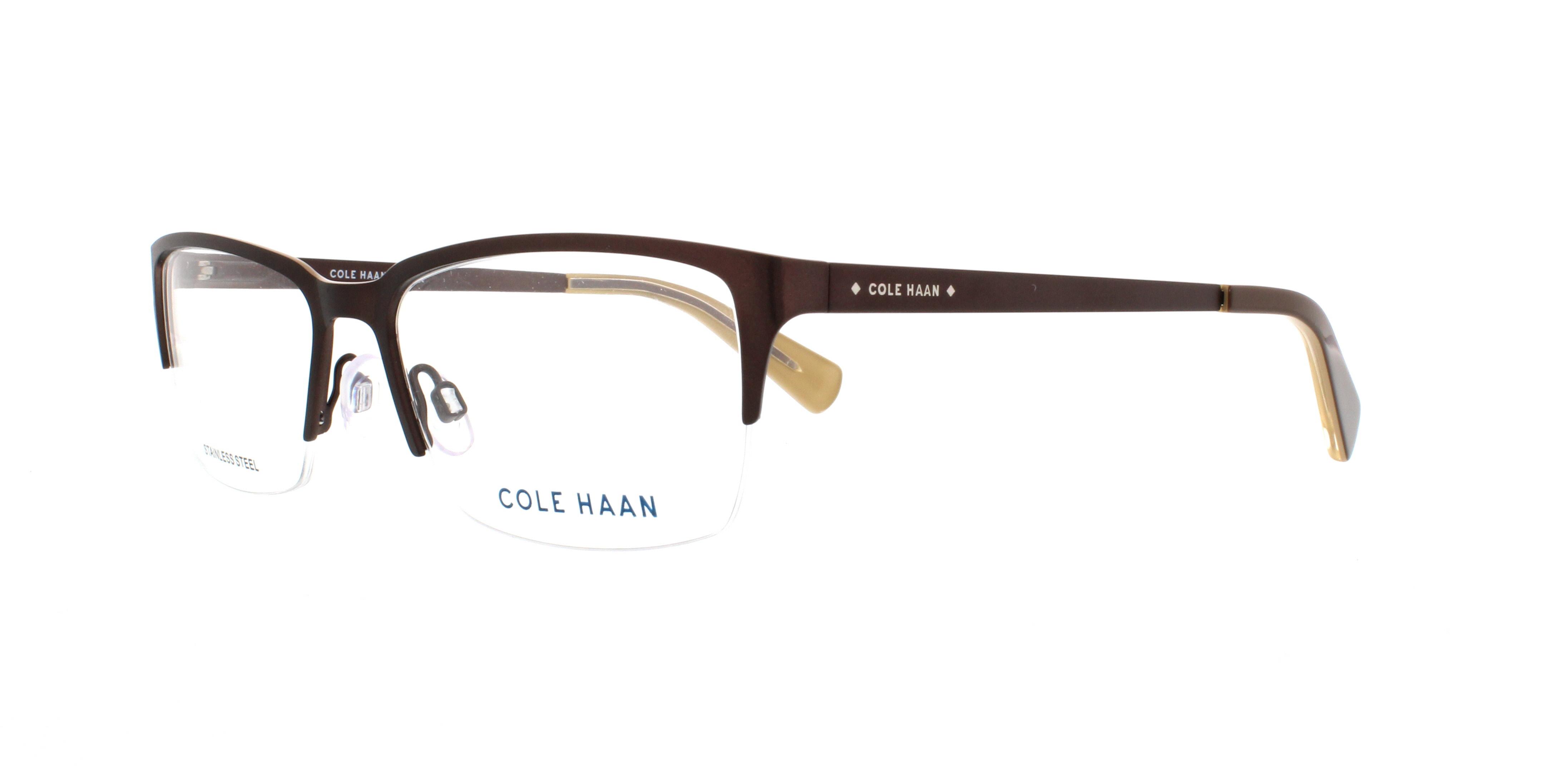 COLE HAAN Eyeglasses CH4004 210 Brown 55MM 788678534729 | eBay