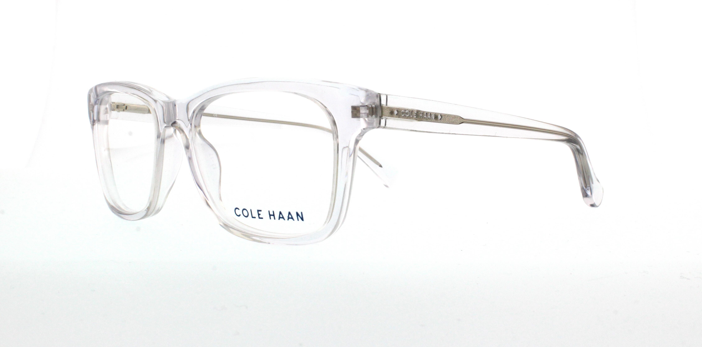 COLE HAAN Eyeglasses CH4008 971 Crystal Clear 52MM 788678534903 | eBay
