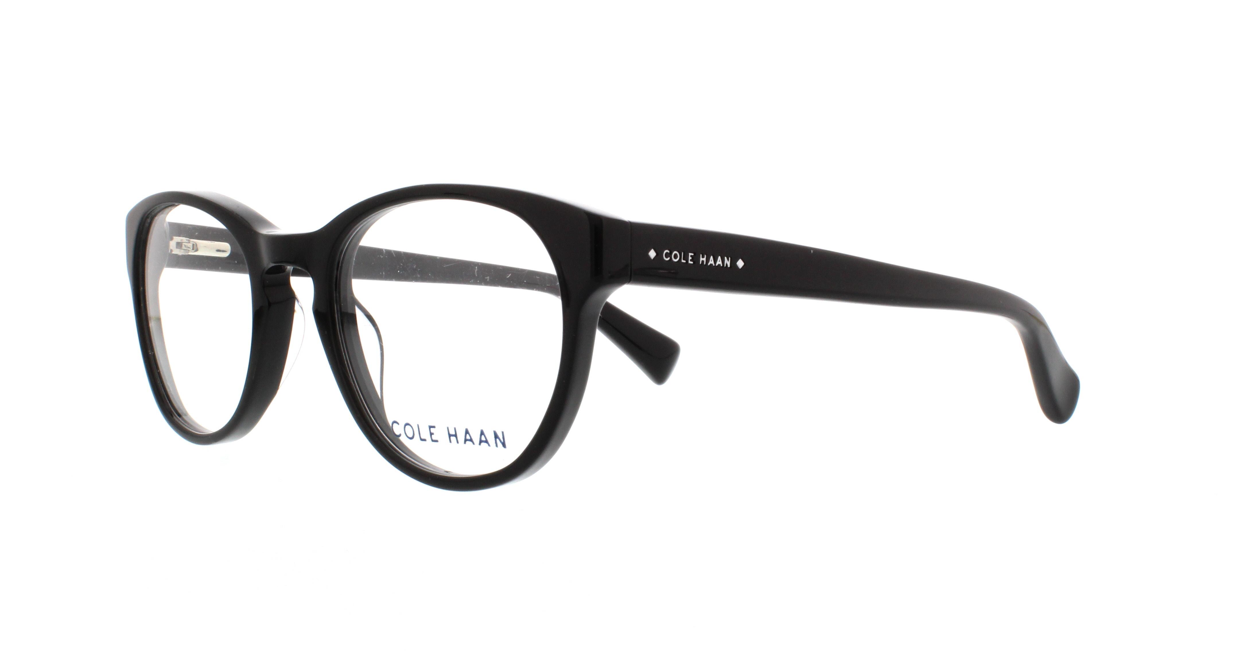 COLE HAAN Eyeglasses CH4009 001 Black 49MM 788678534927   eBay