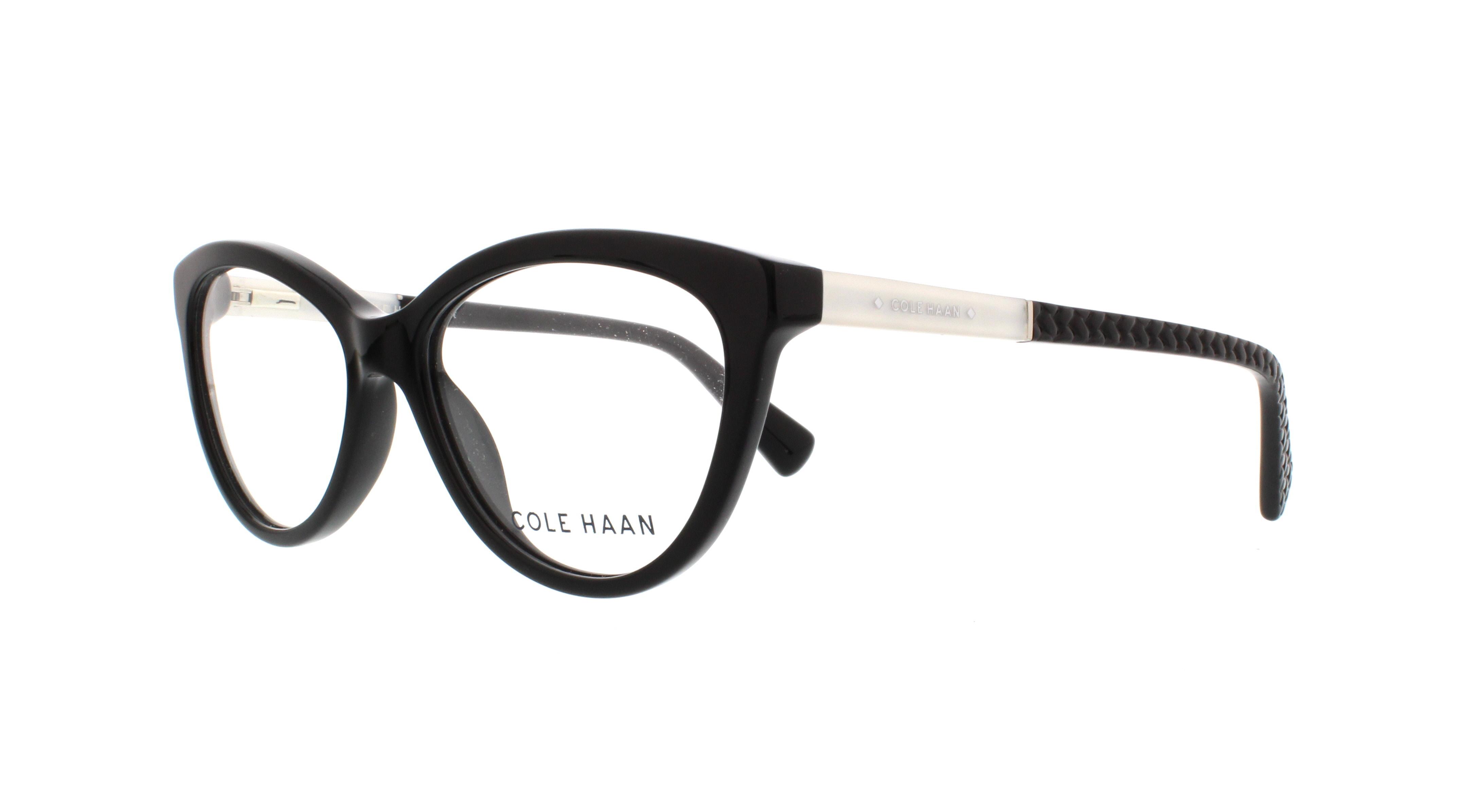 COLE HAAN Eyeglasses CH5000 001 Black 52MM 788678035202 | eBay