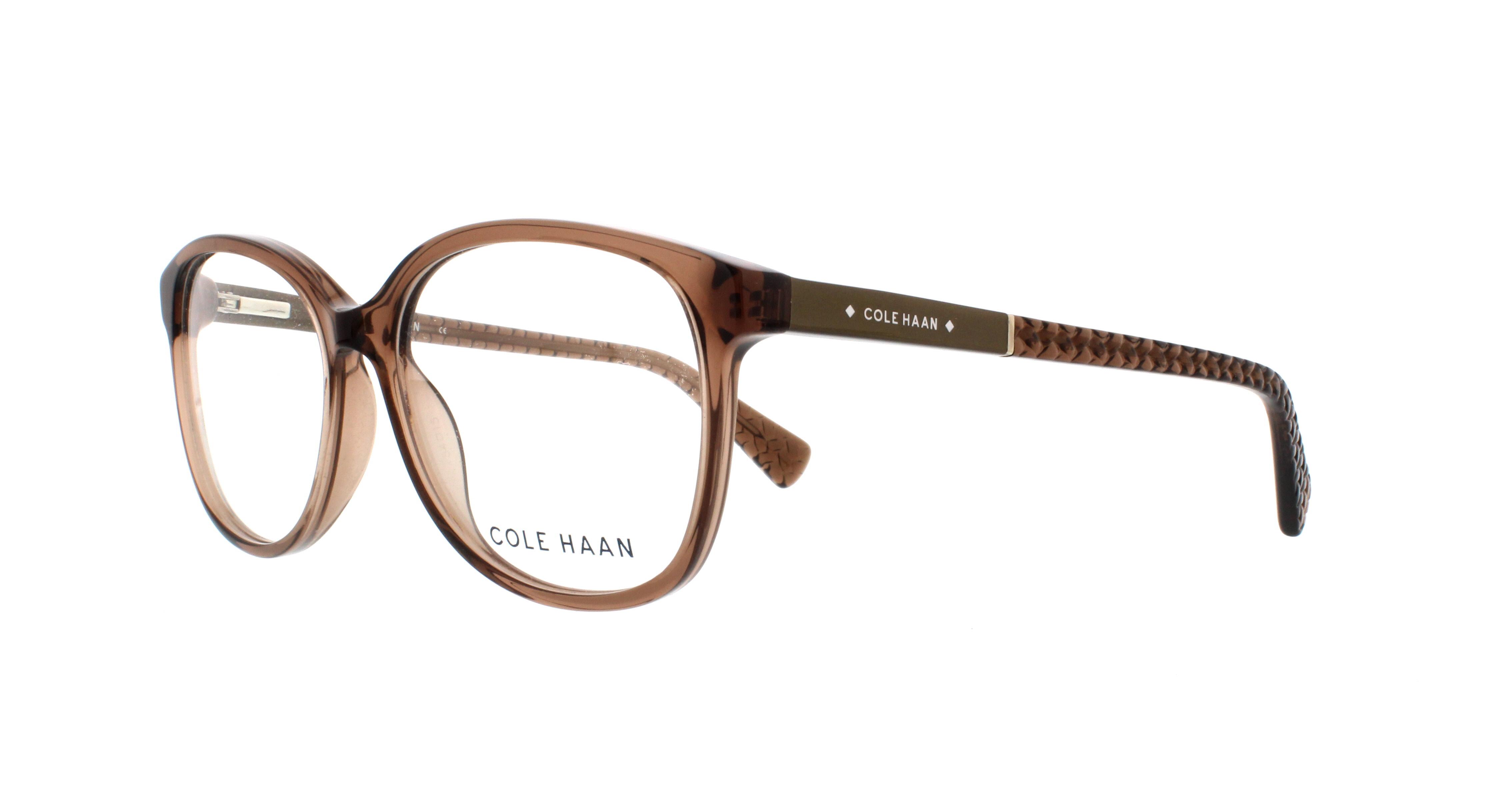COLE HAAN Eyeglasses CH5001 231 Crystal Brown 54MM 788678035257 | eBay