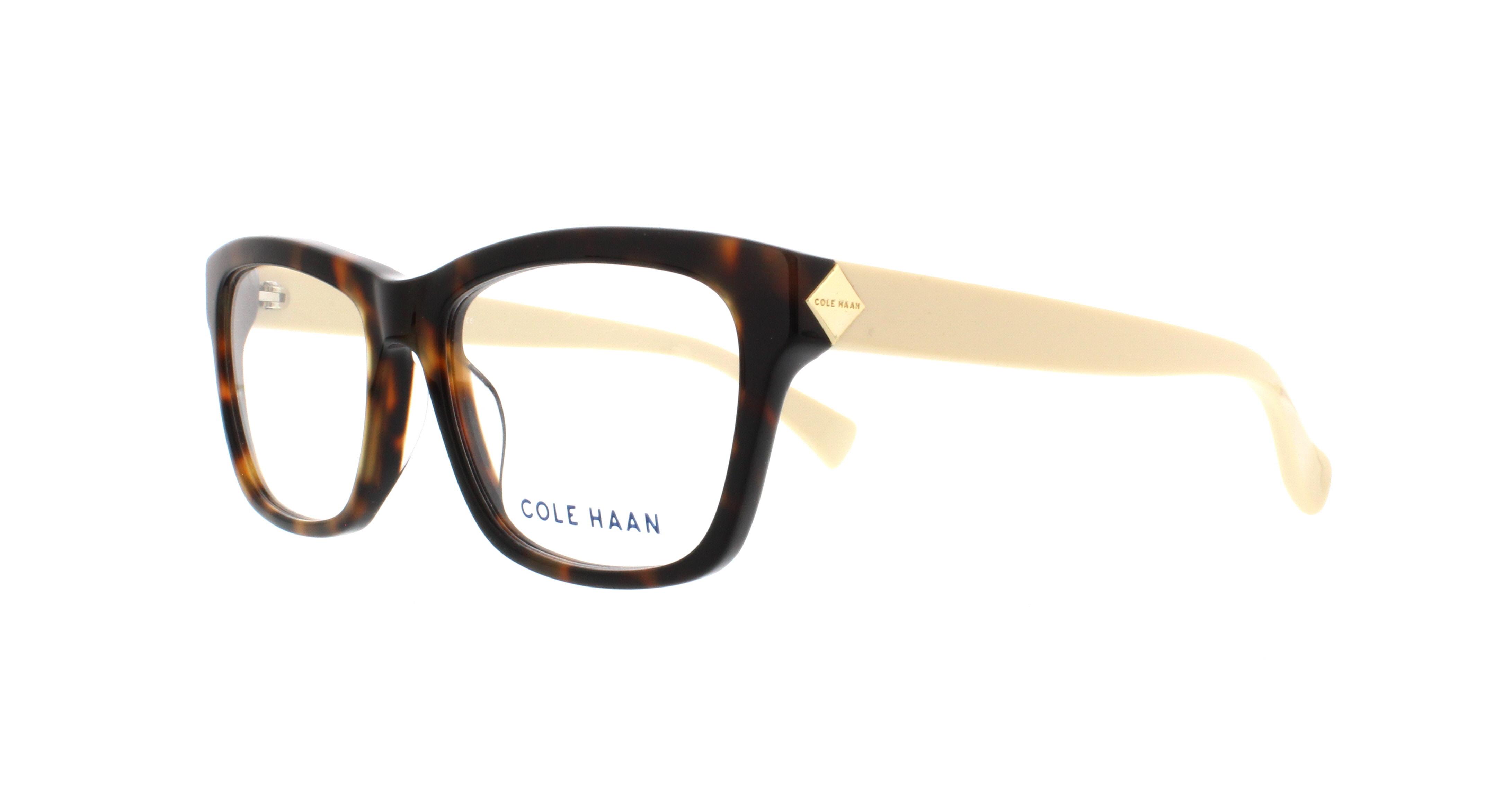 COLE HAAN Eyeglasses CH5007 240 Soft Tortoise 53MM 788678035530 | eBay