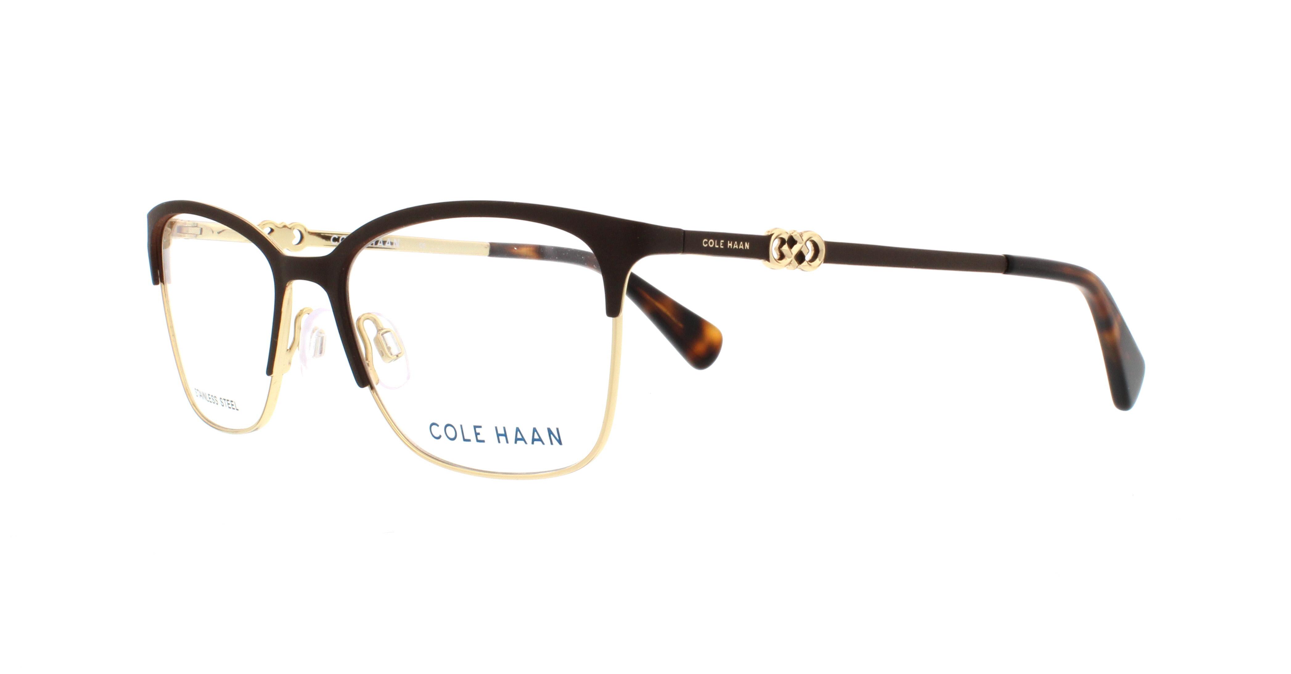 COLE HAAN Eyeglasses CH5009 210 Brown 51MM 788678035653   eBay