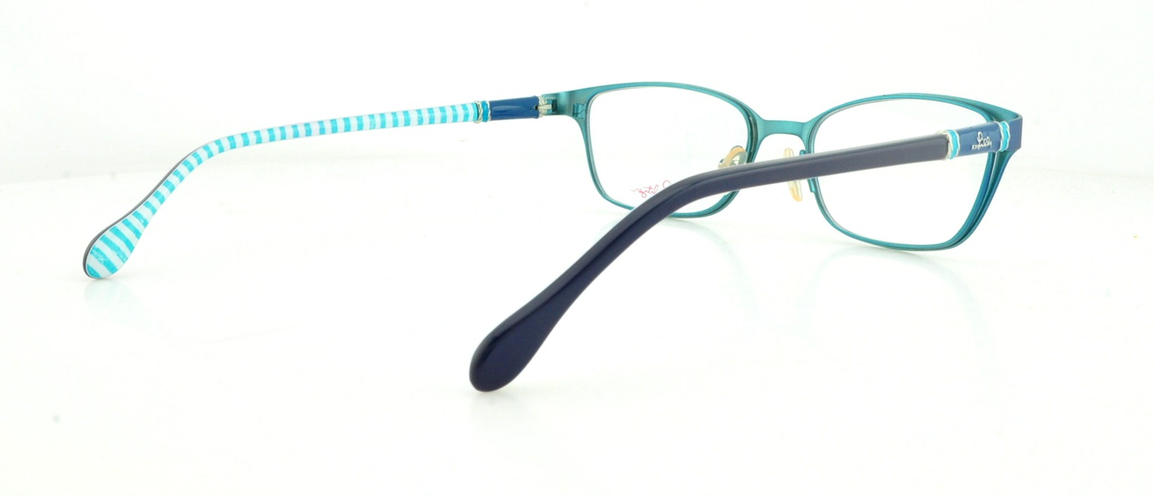 LILLY PULITZER Eyeglasses CHATHAM Blue Fade 49MM   eBay