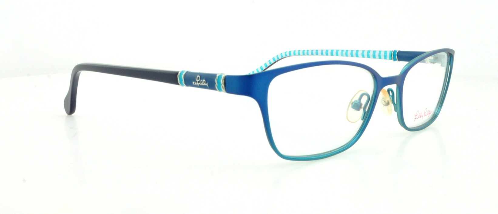 LILLY PULITZER Eyeglasses CHATHAM Blue Fade 49MM 715317965378 | eBay