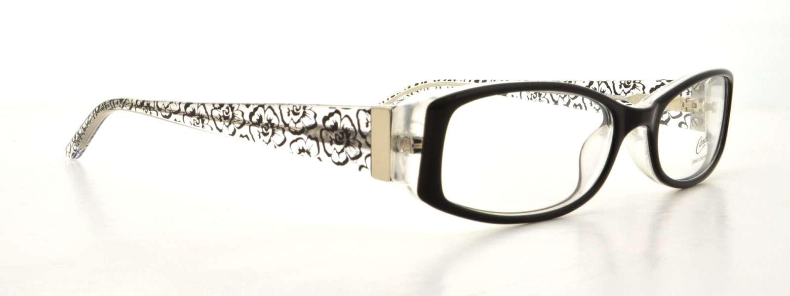 9a46a8182a7 CANDIES Eyeglasses CAA260 ROSANA B96 Black Crystal 49MM