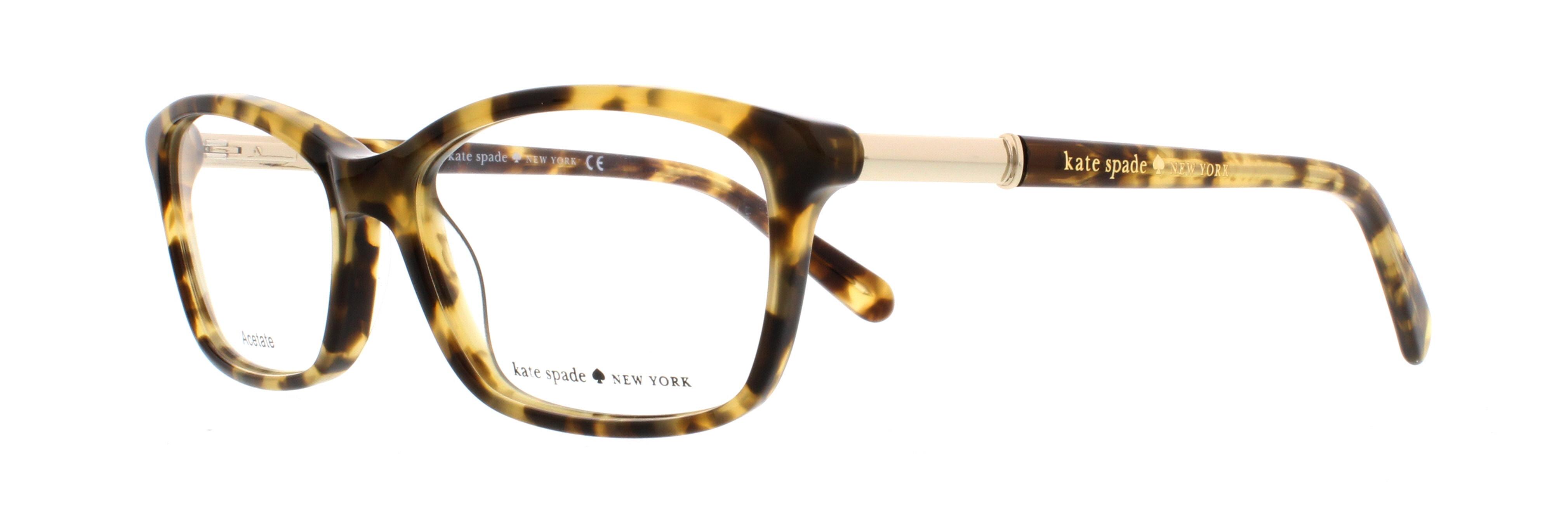 KATE SPADE Eyeglasses CATRINA 0ESP Camel Tortoise 53MM   eBay