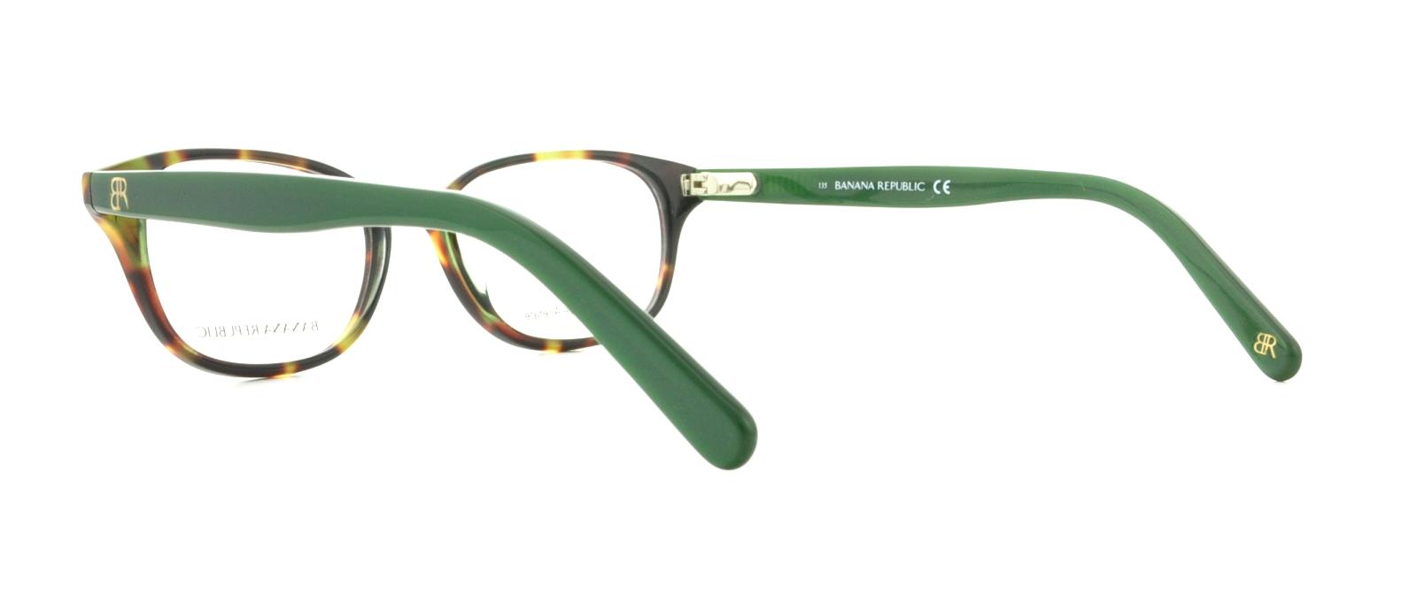 BANANA REPUBLIC Eyeglasses COLEEN 0JZW Olive Tortoise 49MM ...