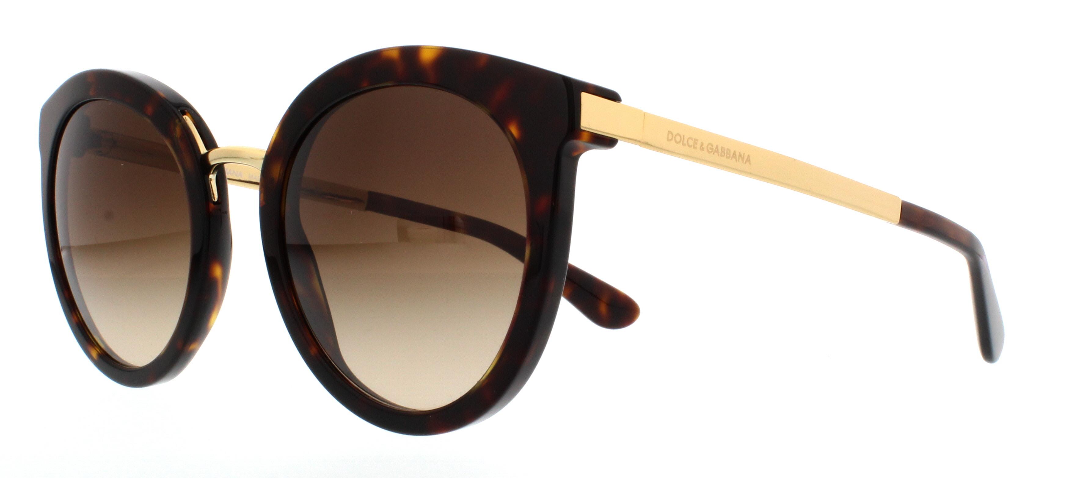 Dolce and Gabbana DG4268 Sonnenbrille Tortoise und Gold 50213 52mm g04FkRt90