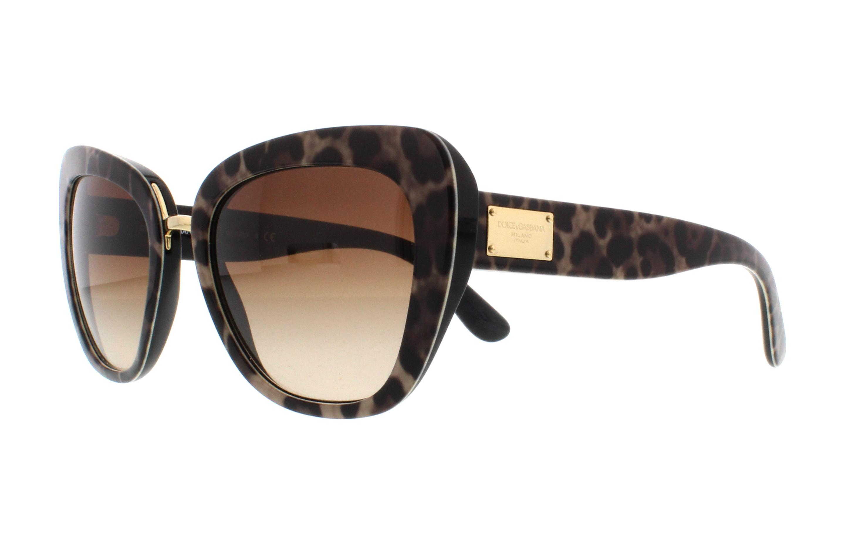 f7574fde8cd6ea DOLCE   GABBANA Sunglasses DG4296 199513 Leoprint 53MM 8053672679120 ...