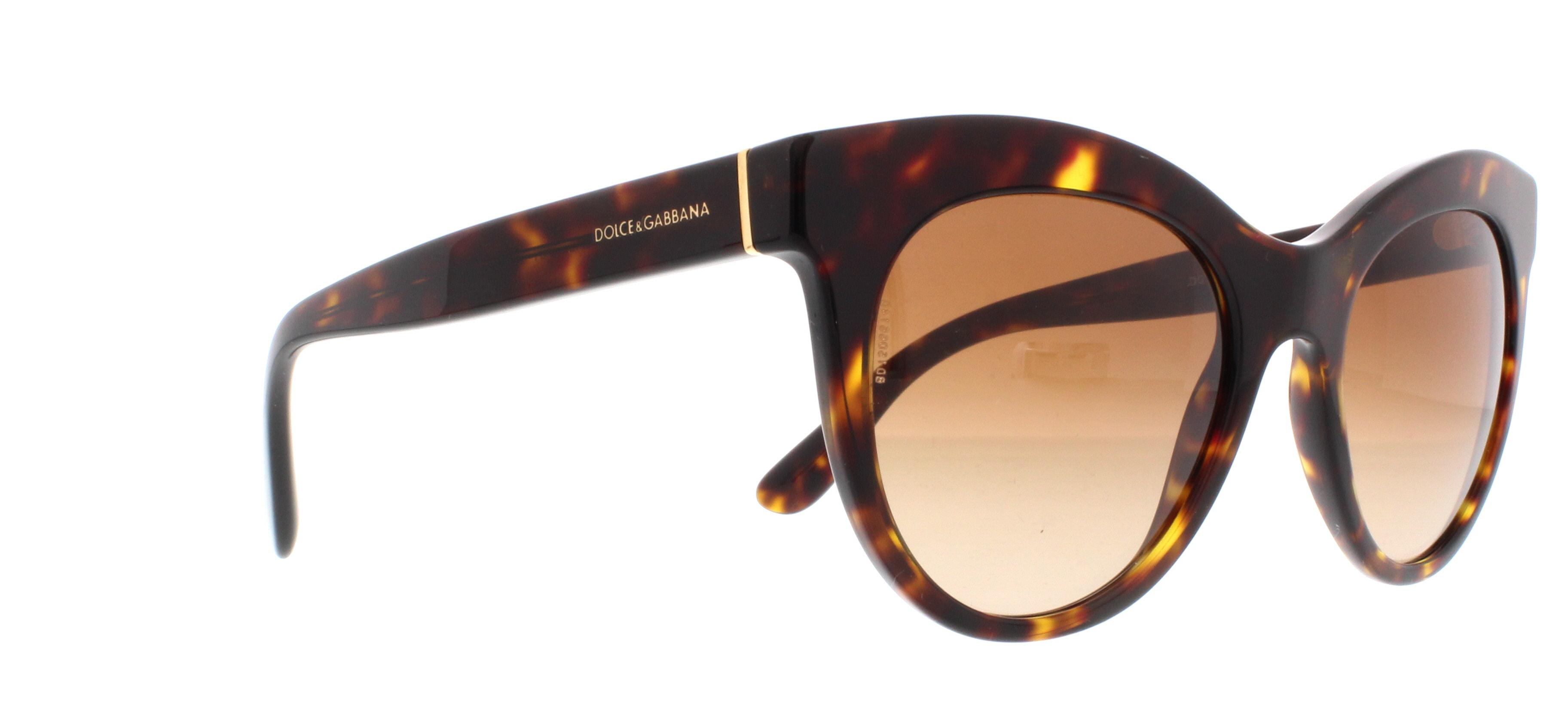 Dolce and Gabbana DG4311 Sonnenbrille Havanna 502/13 51mm 2bu1kCn