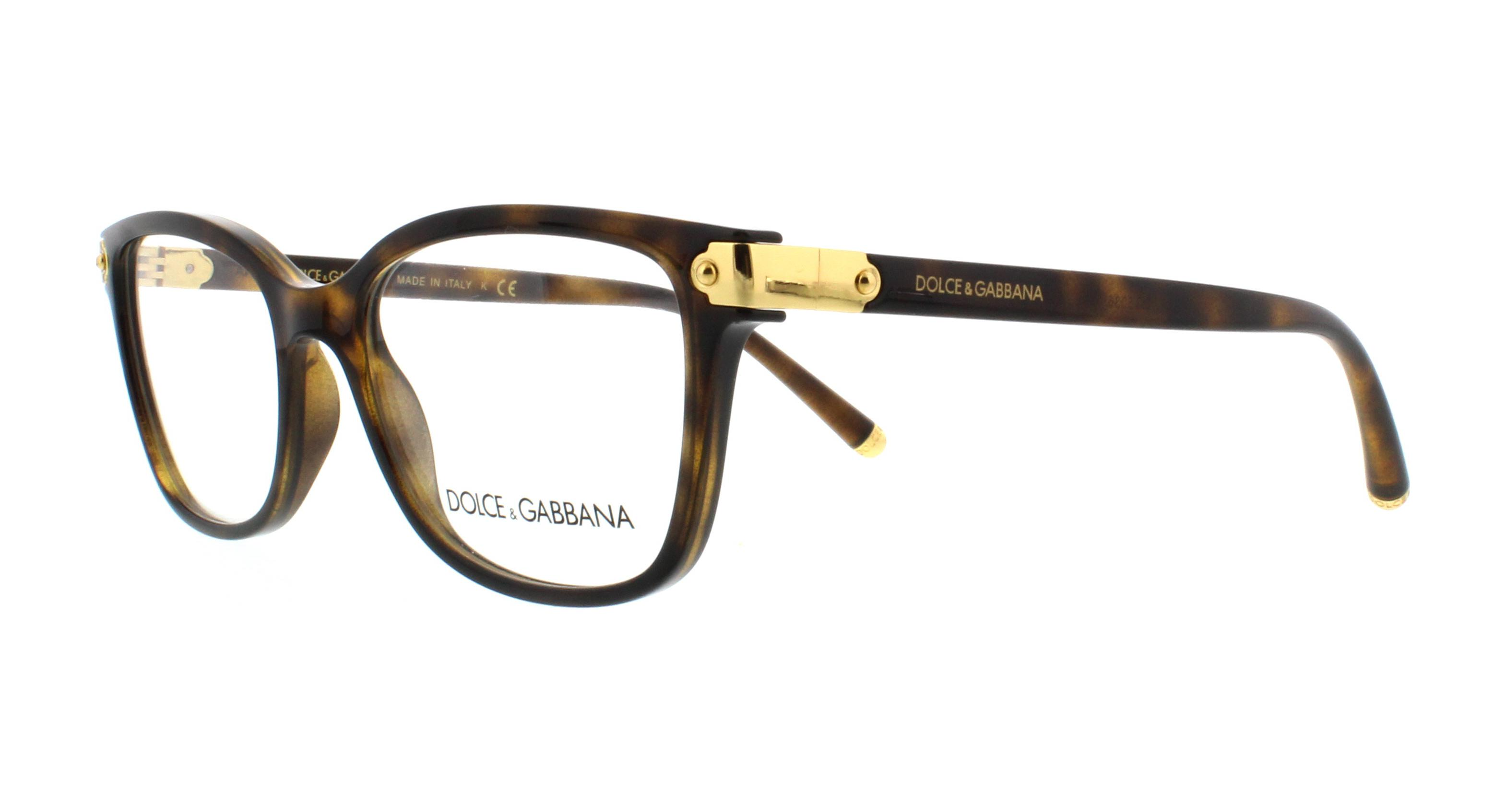 0dde6621a0 DOLCE   GABBANA Eyeglasses DG5036 502 Havana 51MM 8053672909487