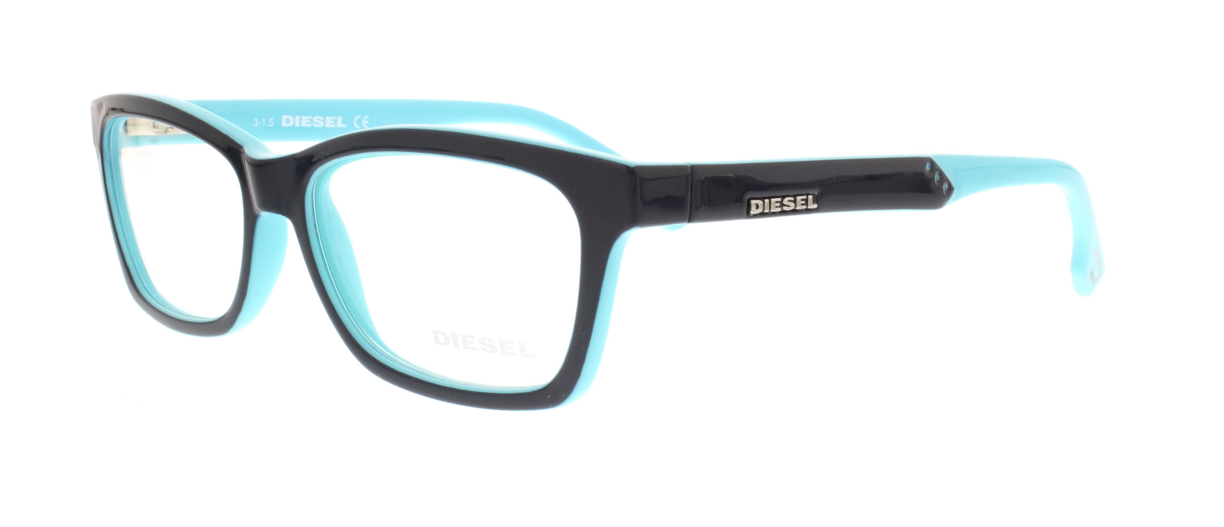DIESEL Eyeglasses DL5063 092 Blue 54MM 664689587223 | eBay