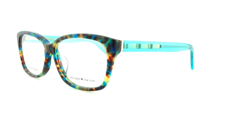 887bd0a8767 KATE SPADE Eyeglasses DEMI F 0FB1 Teal Havana Teal 54MM 716737558171 ...