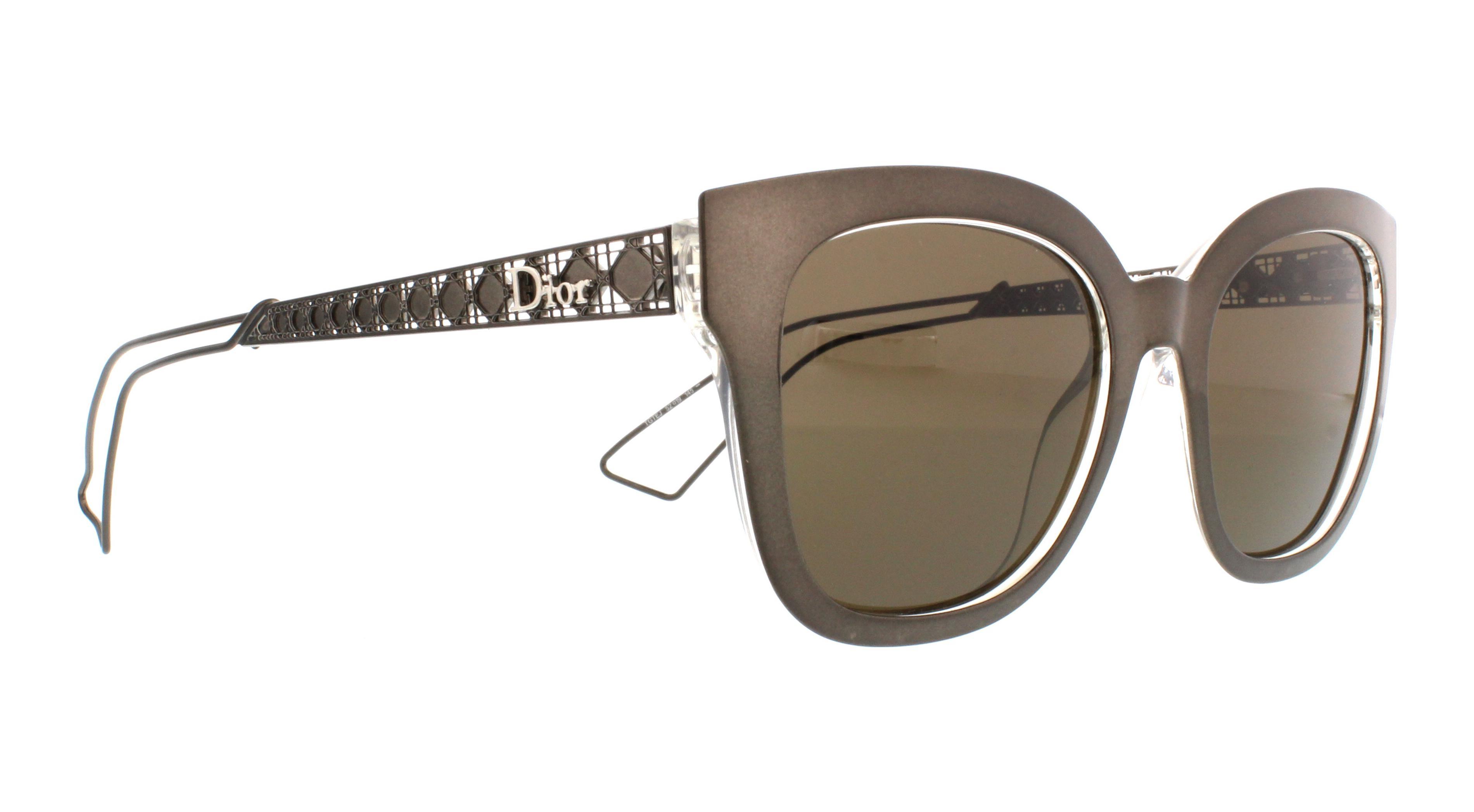 2ec62289c04 DIOR Sunglasses AMA 1 S 0TGT Gray Crystal 52MM