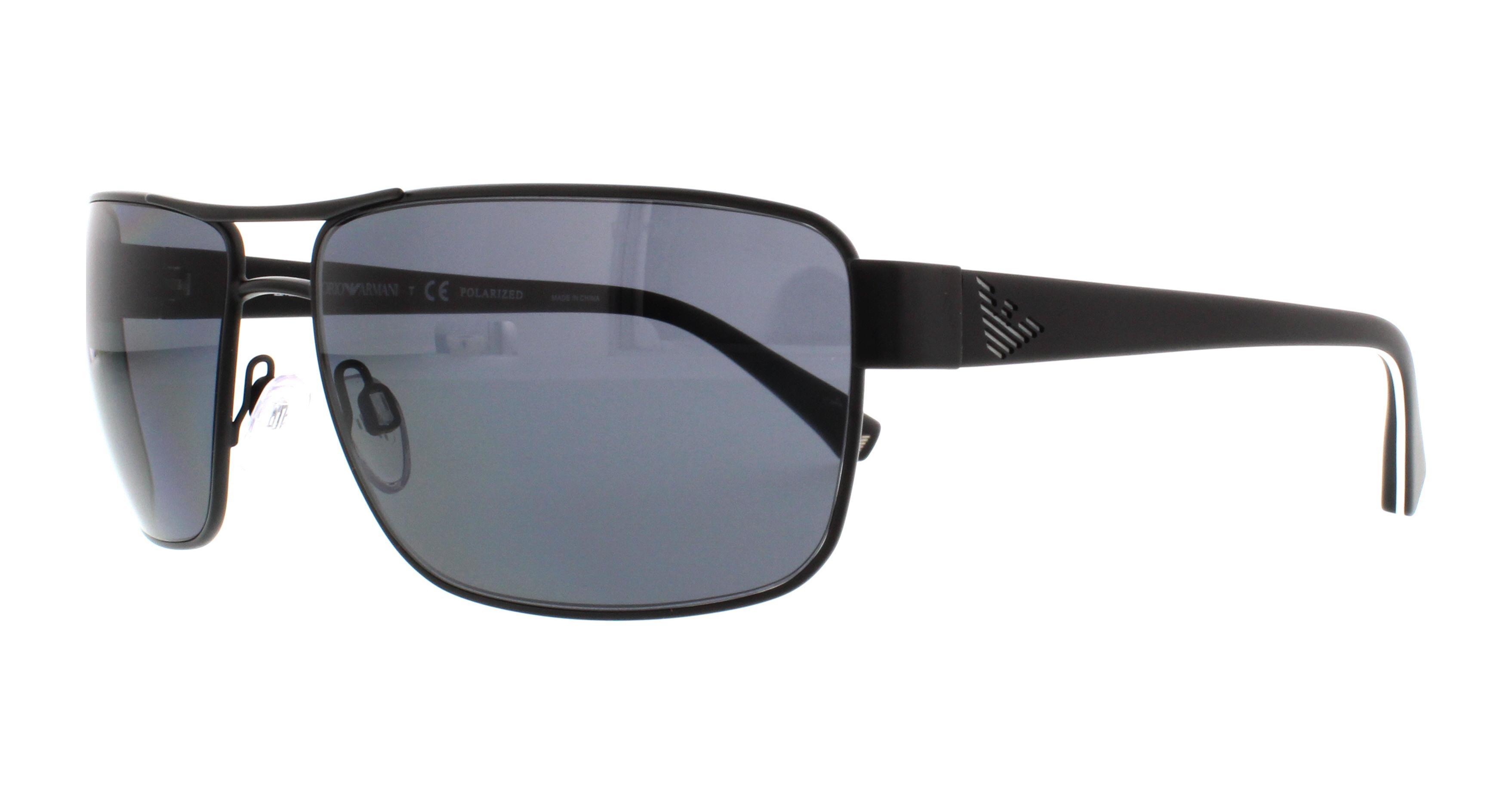 EMPORIO ARMANI Sunglasses EA2031 310981 Matte Black 62MM ...