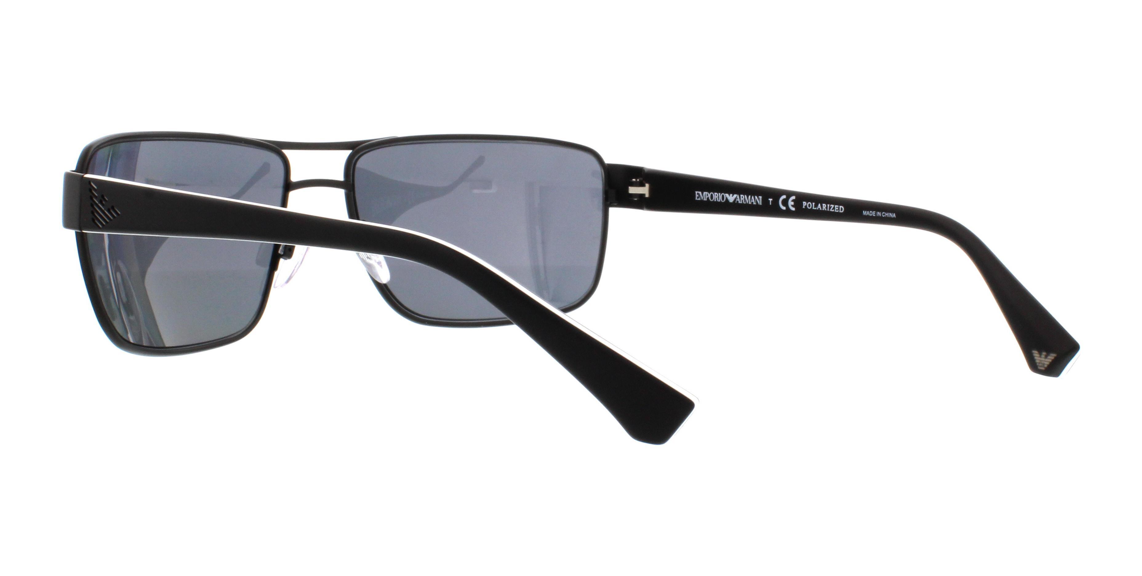 50d238f9924 EMPORIO ARMANI Sunglasses EA2031 310981 Matte Black 62MM 8053672421286