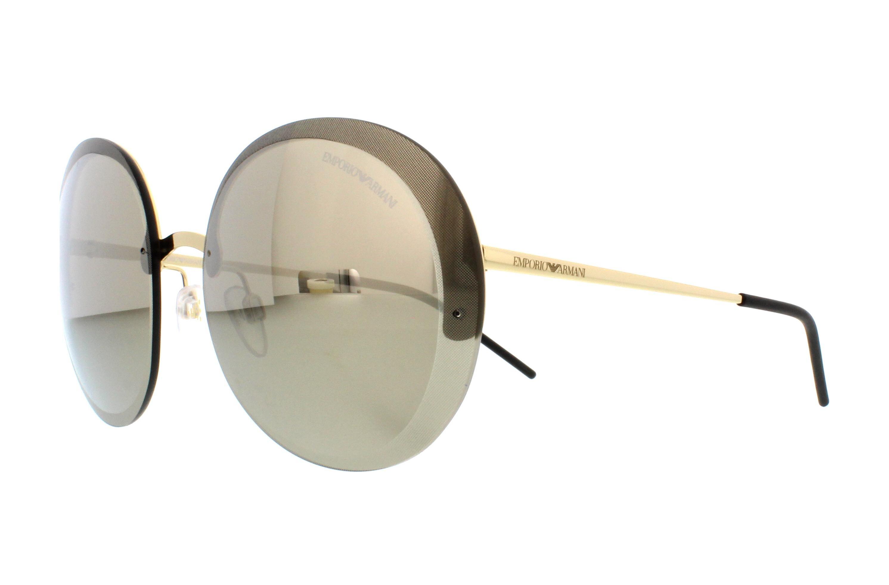 7453cd7f96d EMPORIO ARMANI Sunglasses EA2044 31245A Pale Gold 61MM 8053672641936 ...