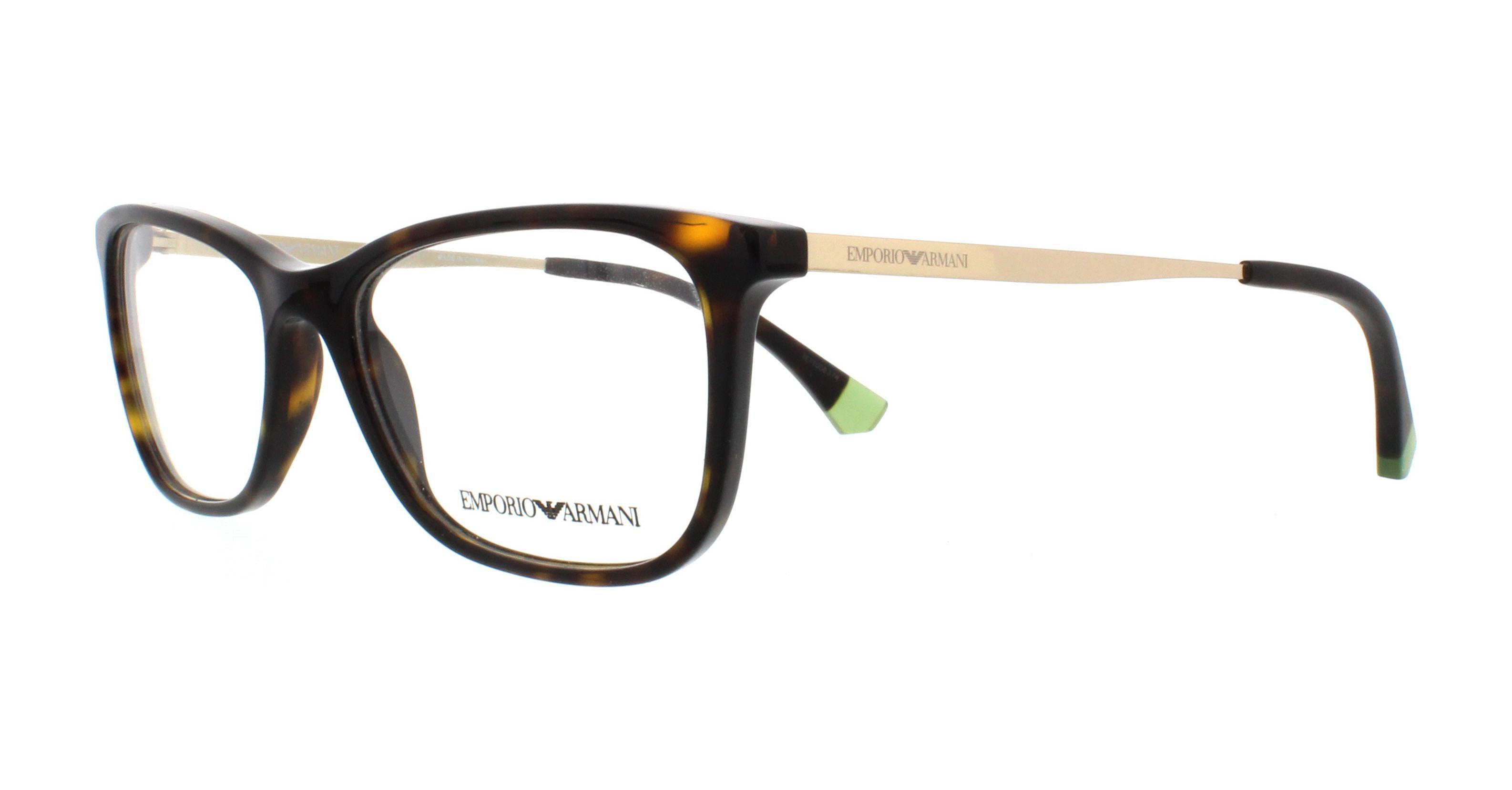 51ef6b9cc73 EMPORIO ARMANI Eyeglasses EA3119 5089 Dark Havana 52MM 8053672746938 ...