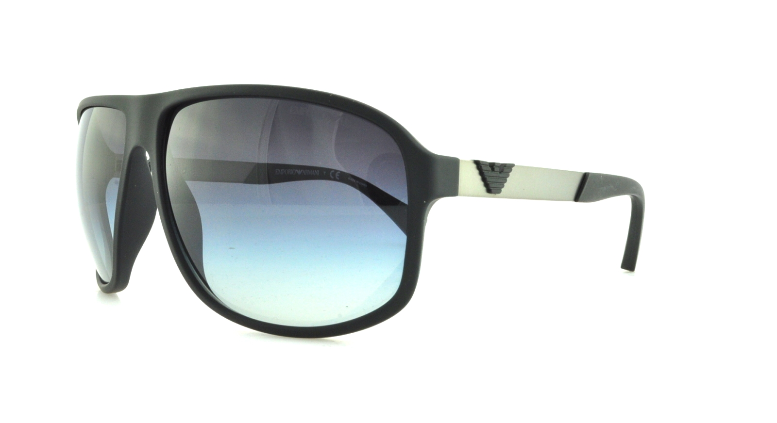 8d805653583 Details about EMPORIO ARMANI Sunglasses EA4029 50638G Black Rubber 64MM