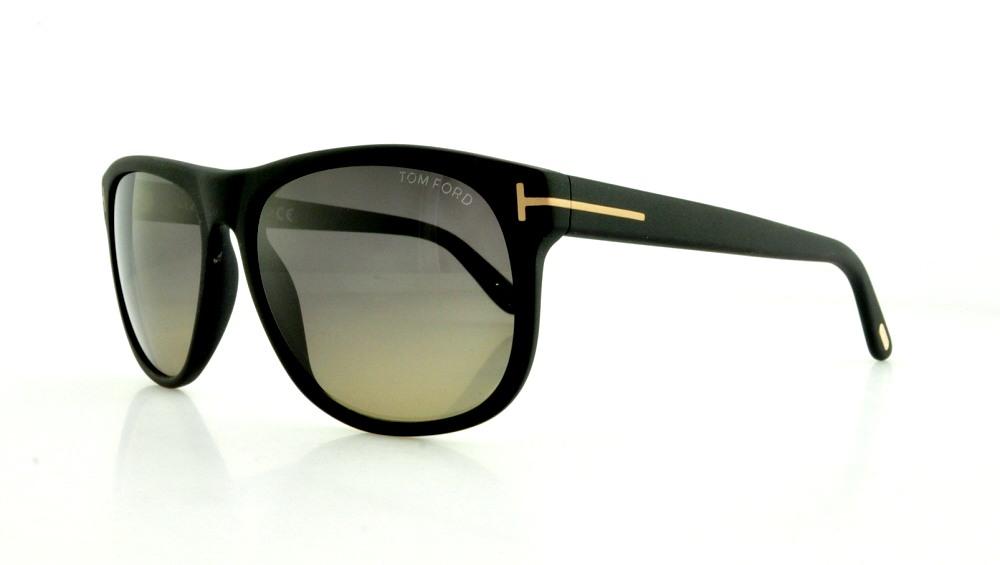 da854ce5ce TOM FORD Sunglasses FT0236 OLIVIER 02D Matte Black 58MM 664689579945 ...