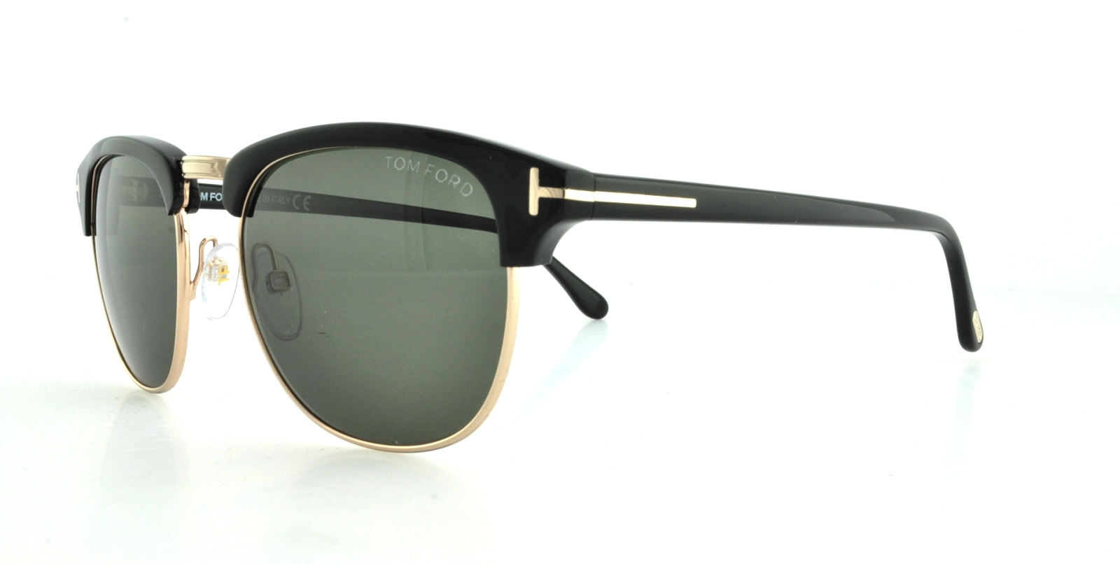 e10e831748 Details about TOM FORD Sunglasses FT0248 HENRY 05N Black 51MM