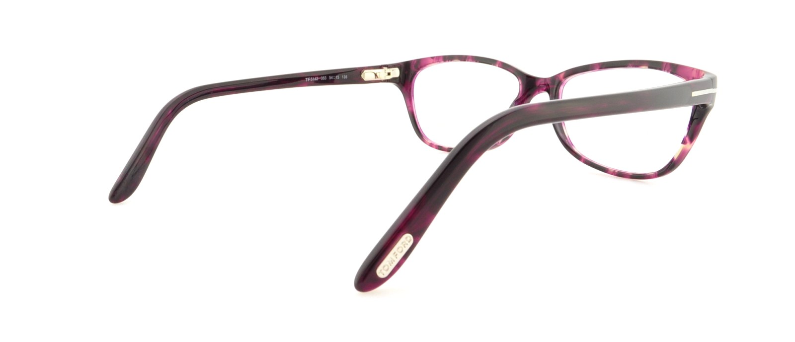 37c5a08d29 TOM FORD Eyeglasses FT5142 083 Violet 54MM 664689515189