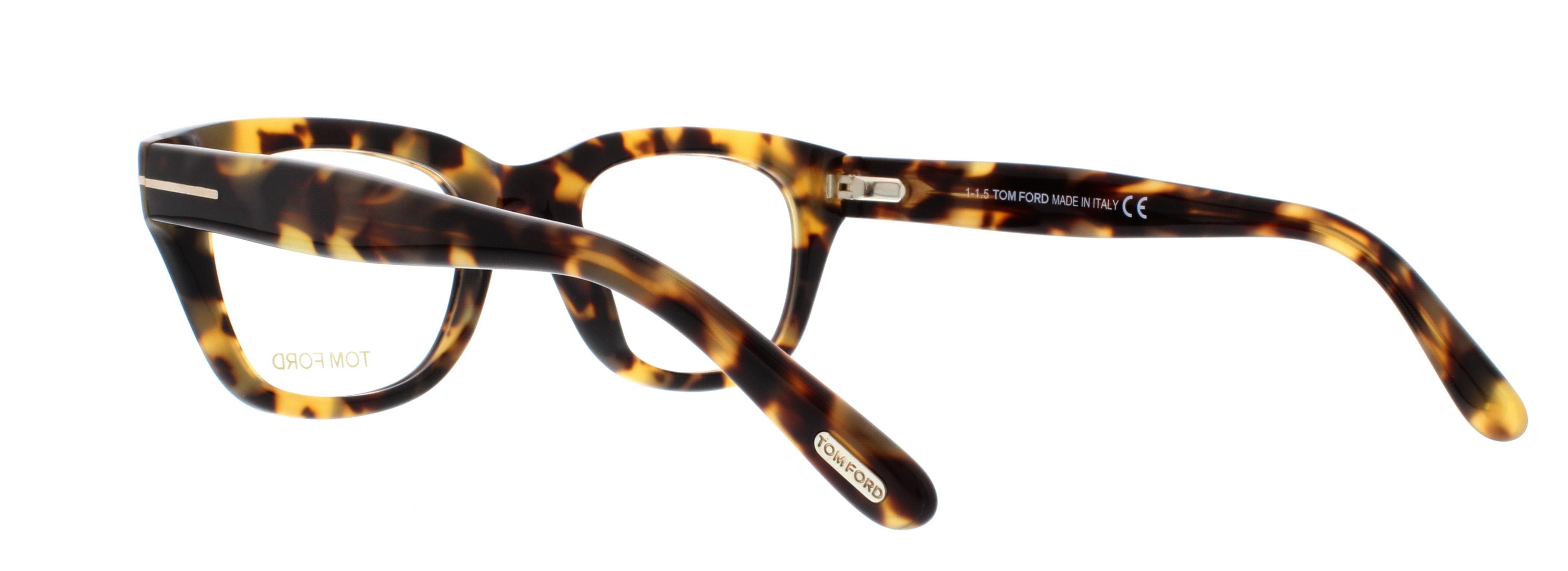 9bdcb5e203 TOM FORD Eyeglasses FT5178 055 Coloured Havana 50MM 5 5 of 8 ...
