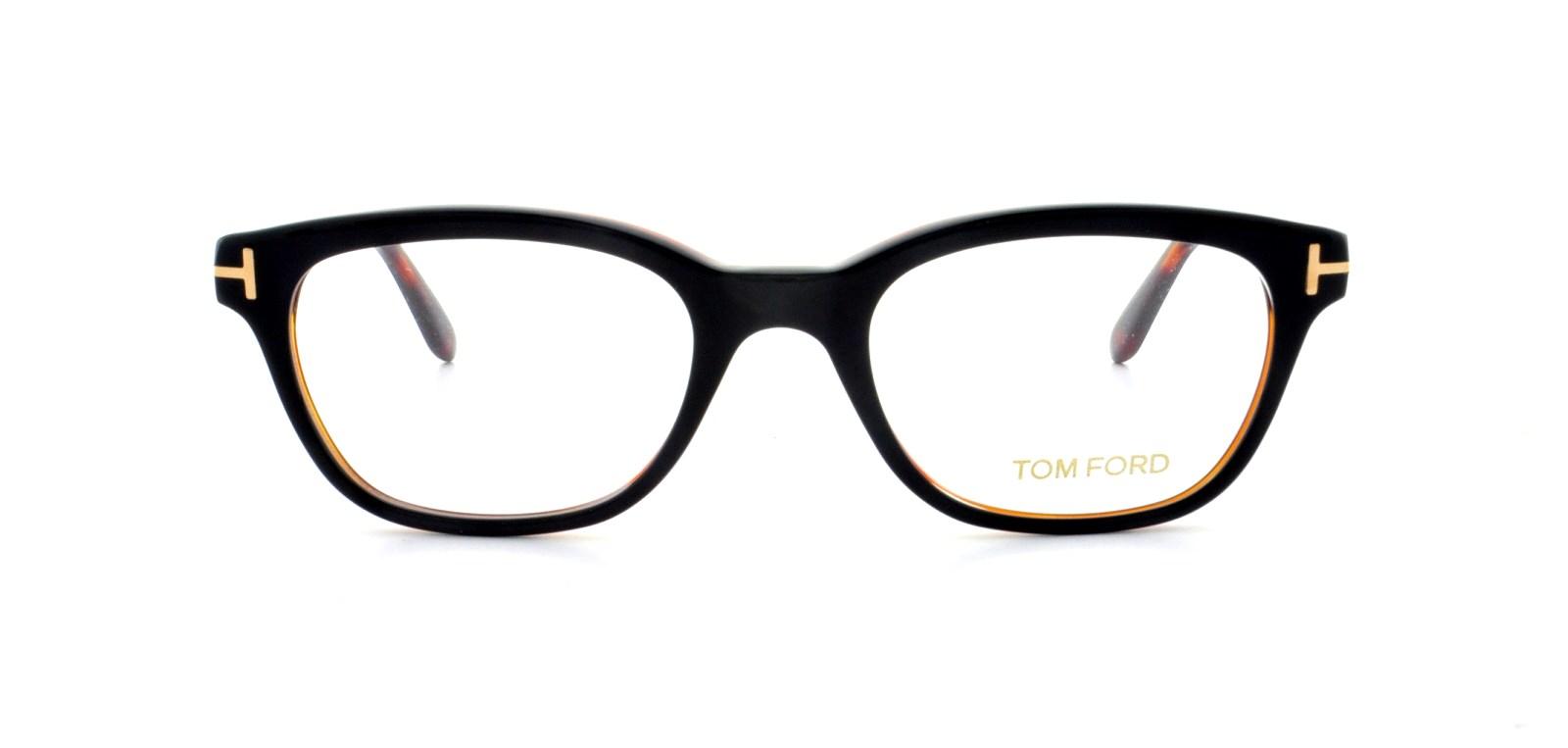13afd8cf4f TOM FORD Eyeglasses FT5207 005 Black 49MM