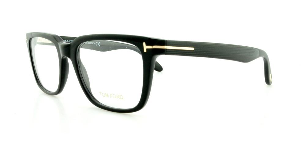 6a917274e4237 TOM FORD Eyeglasses FT5304 001 Shiny Black 54MM 664689629060