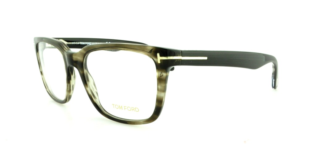 TOM FORD Eyeglasses FT5304 093 Shiny Light Green 54MM 664689629091 ...