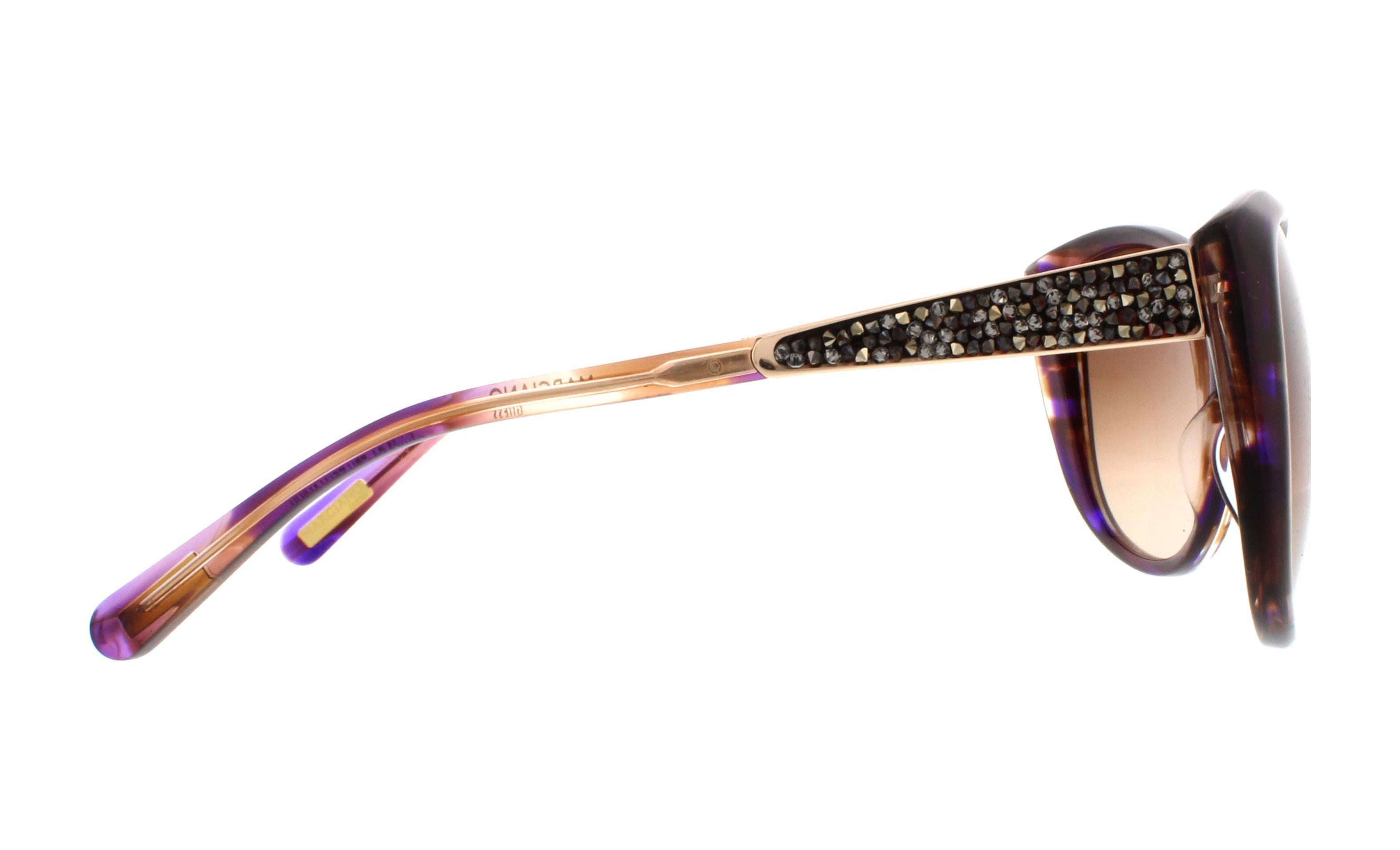5b199377751 GUESS BY MARCIANO Sunglasses GM 722 O44 Purple4 58MM 715583359024